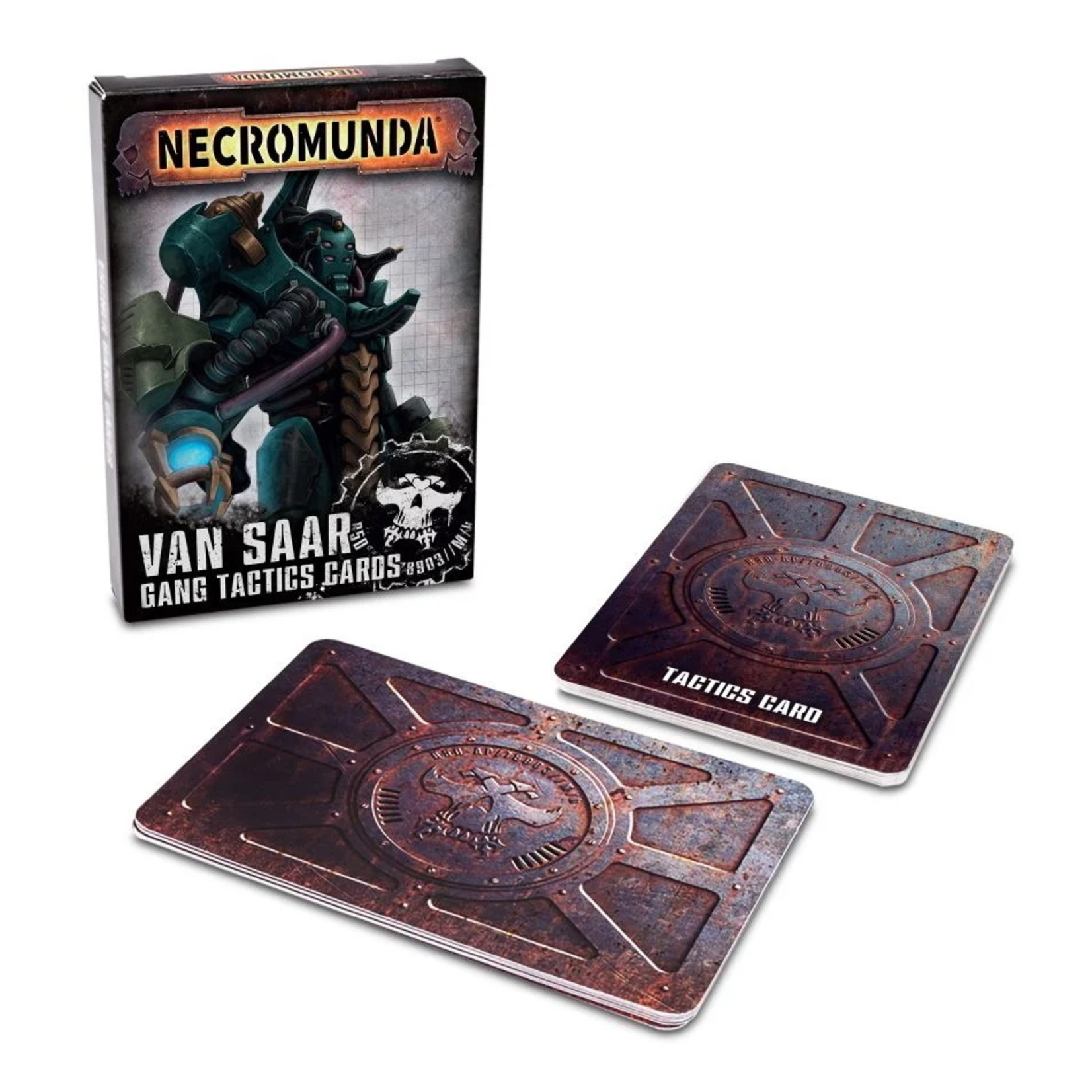 Games Workshop Necromunda: Van Saar Gang Tactics Cards (Second Edition)