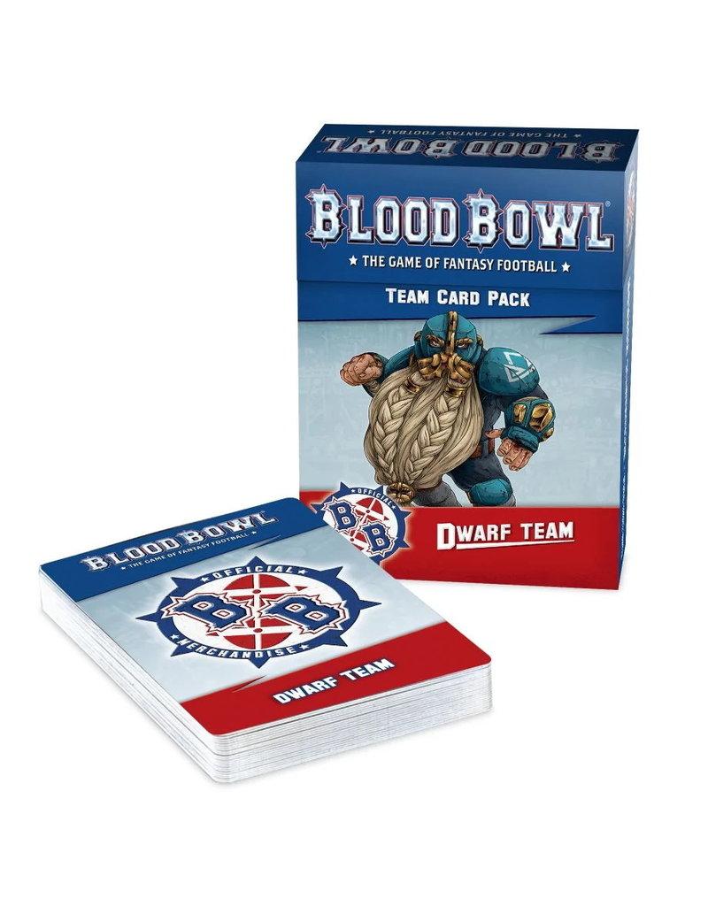 Games Workshop Dwarf Team Card Pack