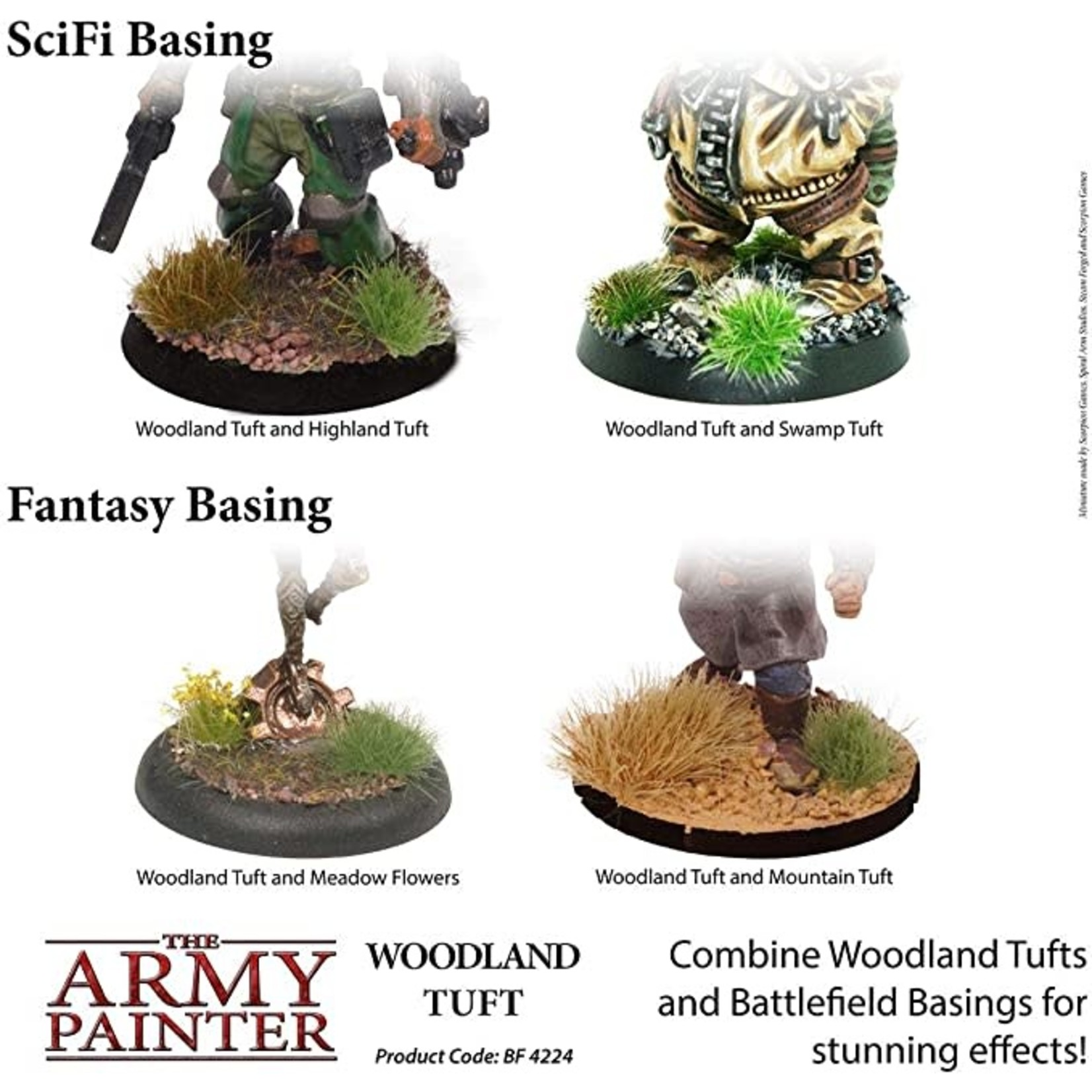THE ARMY PAINTER WOODLAND TUFT