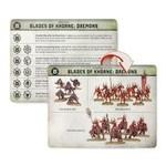 Games Workshop Warcry: Daemons Of Khorne Cards
