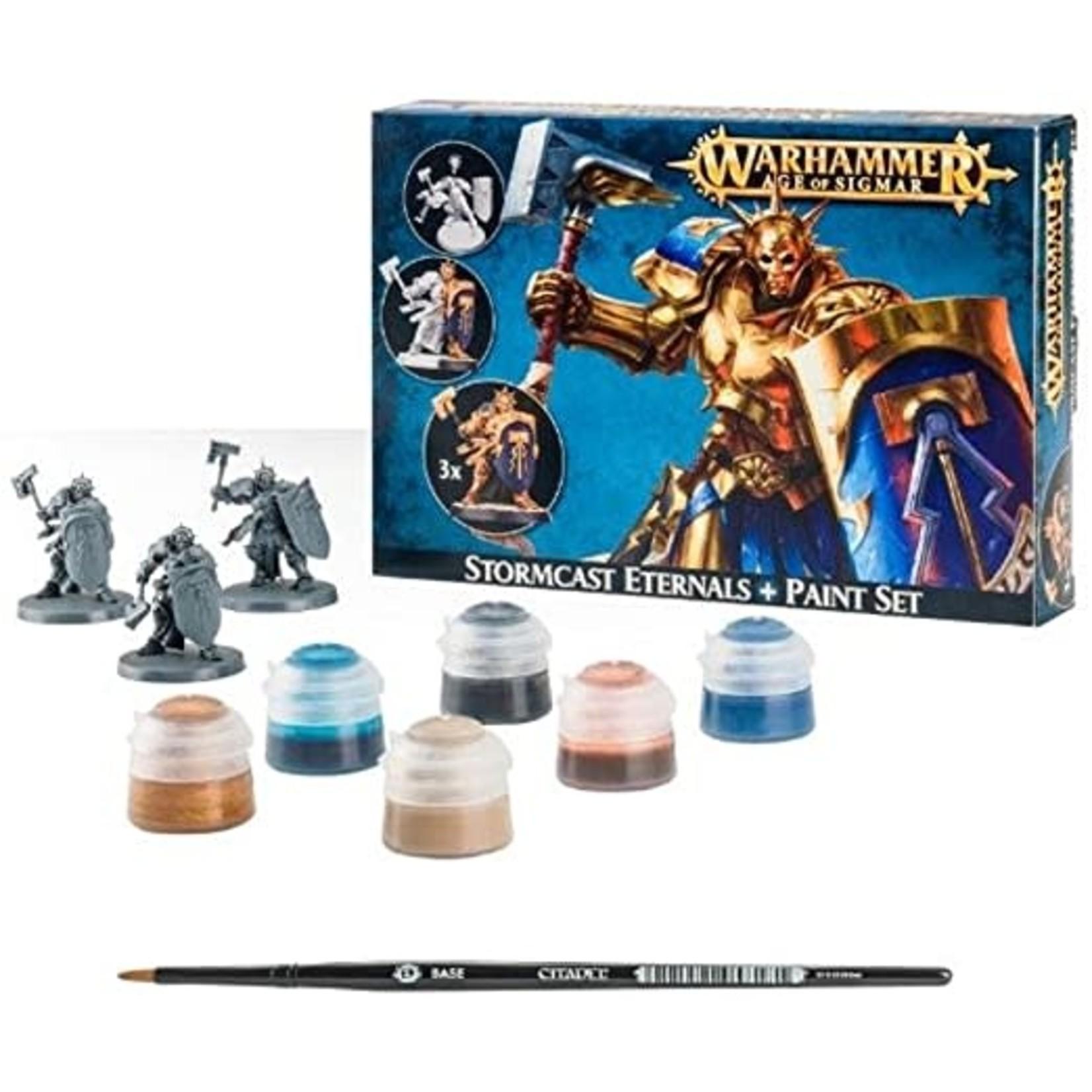 Games Workshop Stormcast Paint Set+