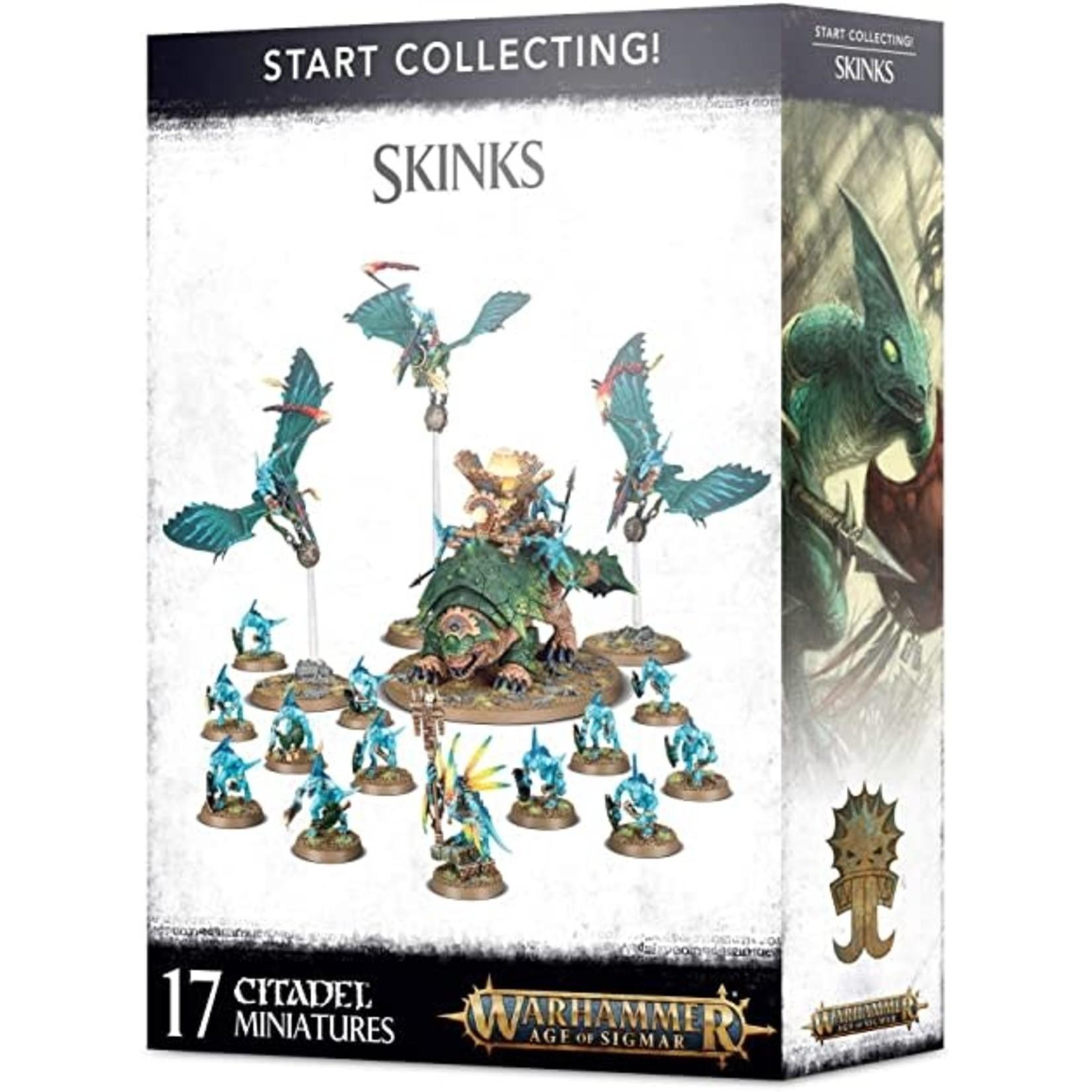Games Workshop Start Collecting! Skinks