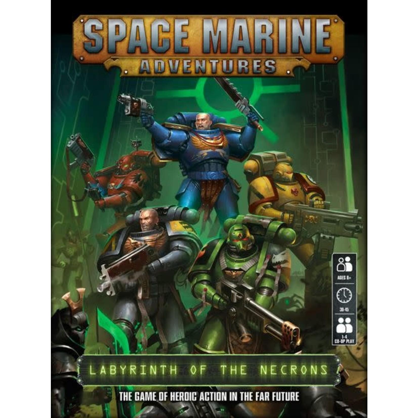 Games Workshop SPACE MARINE ADVENTURES (ENGLISH)