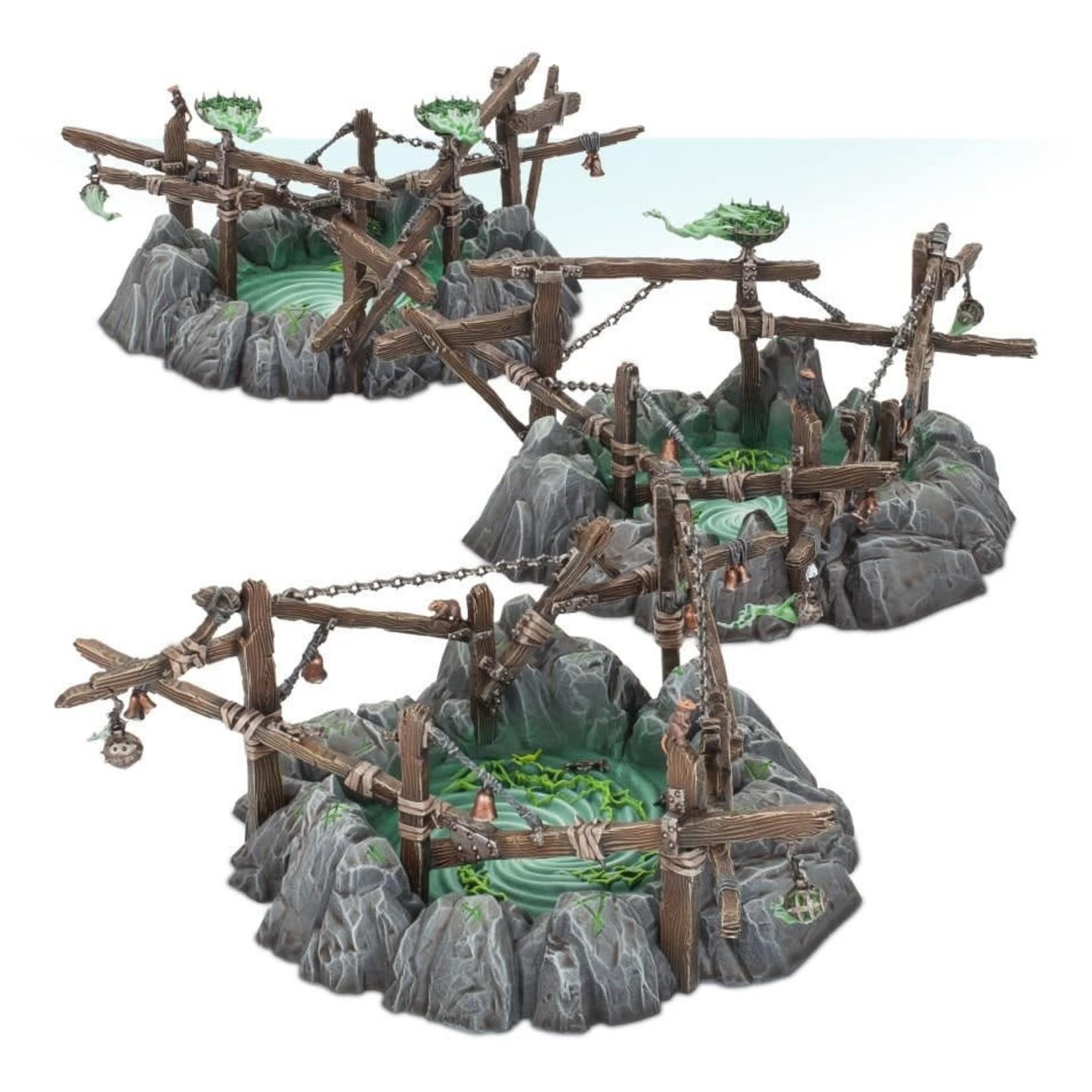 Games Workshop Skaven Gnawholes