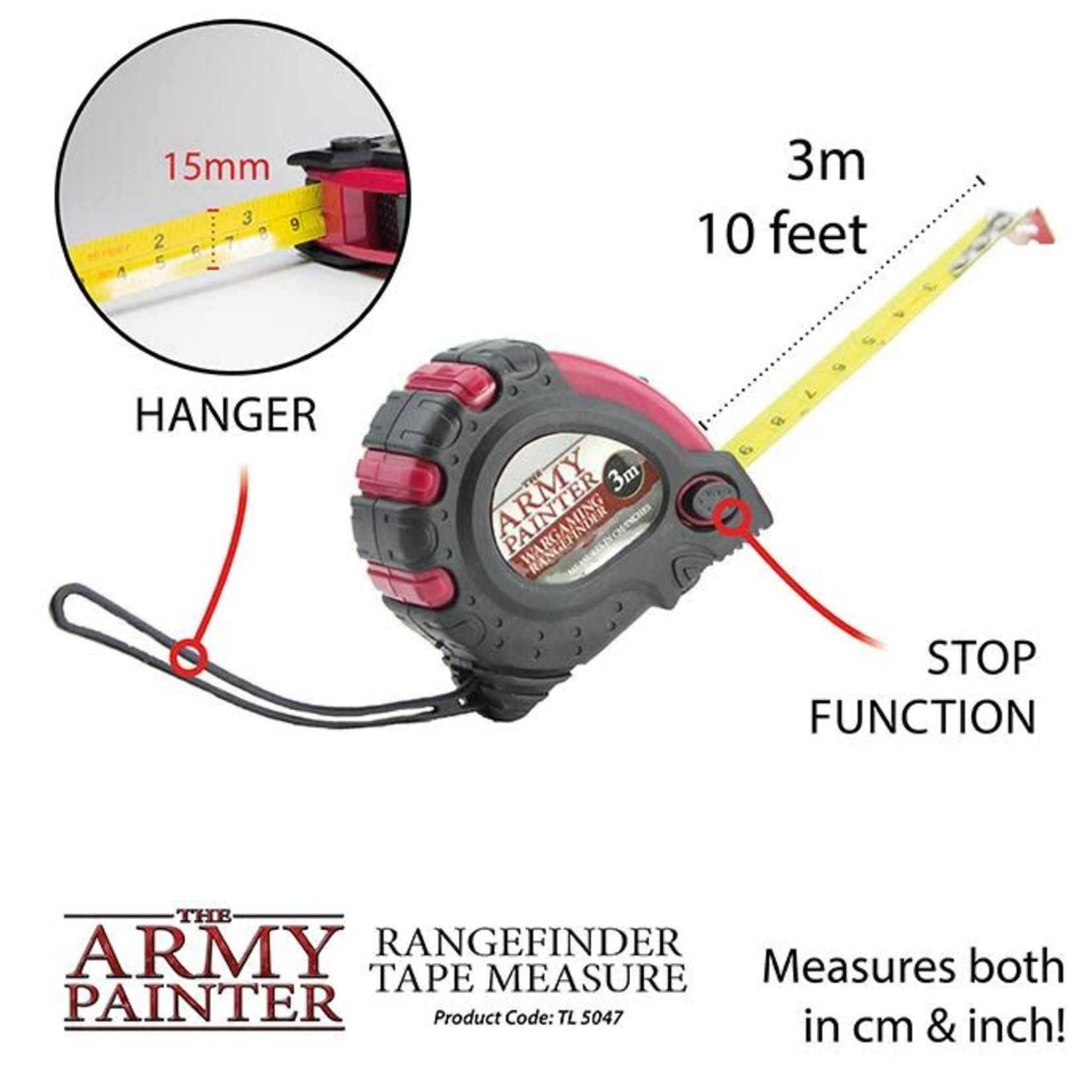 THE ARMY PAINTER RANGE FINDER TAPE MEASURE