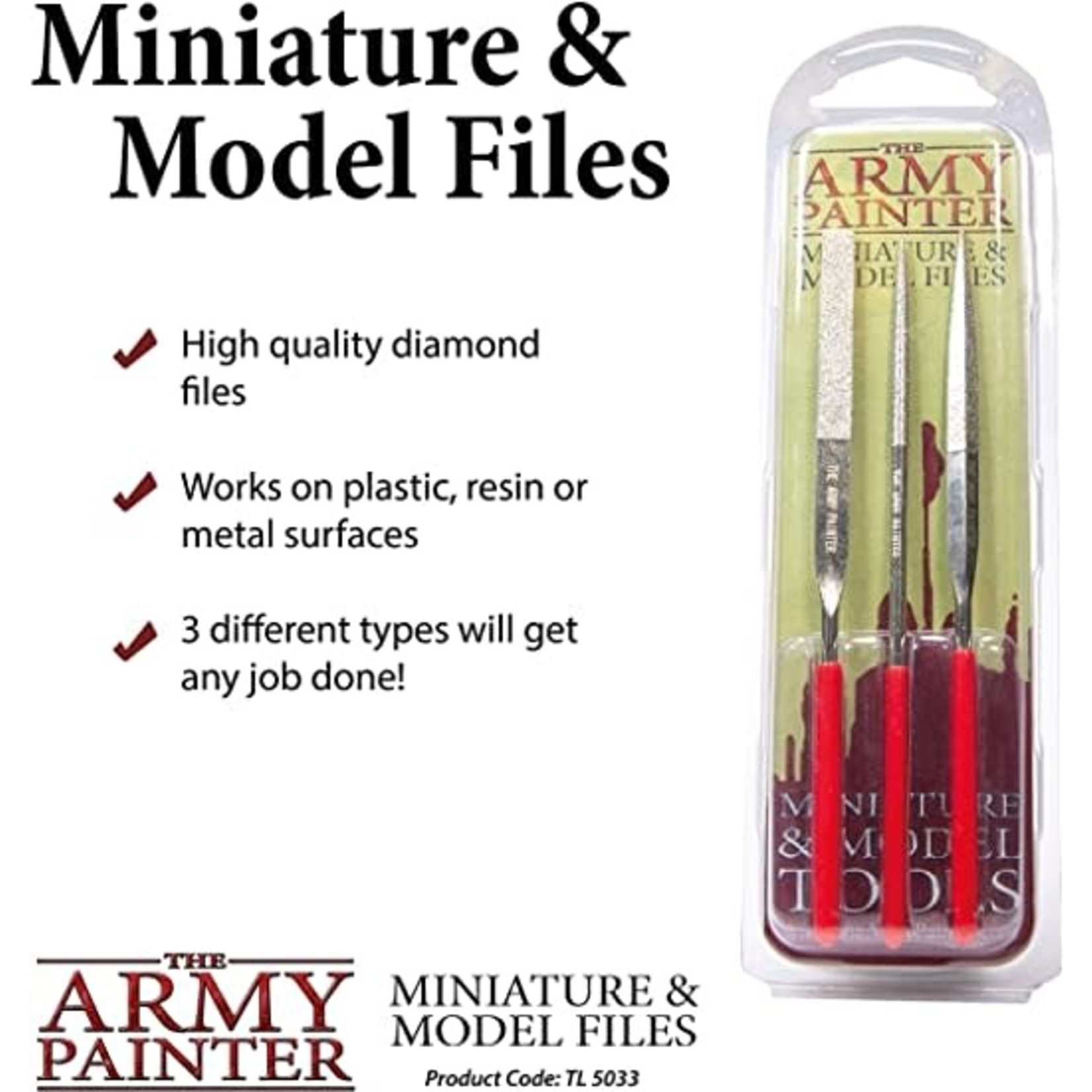 THE ARMY PAINTER MINIATURE AND MODEL FILES