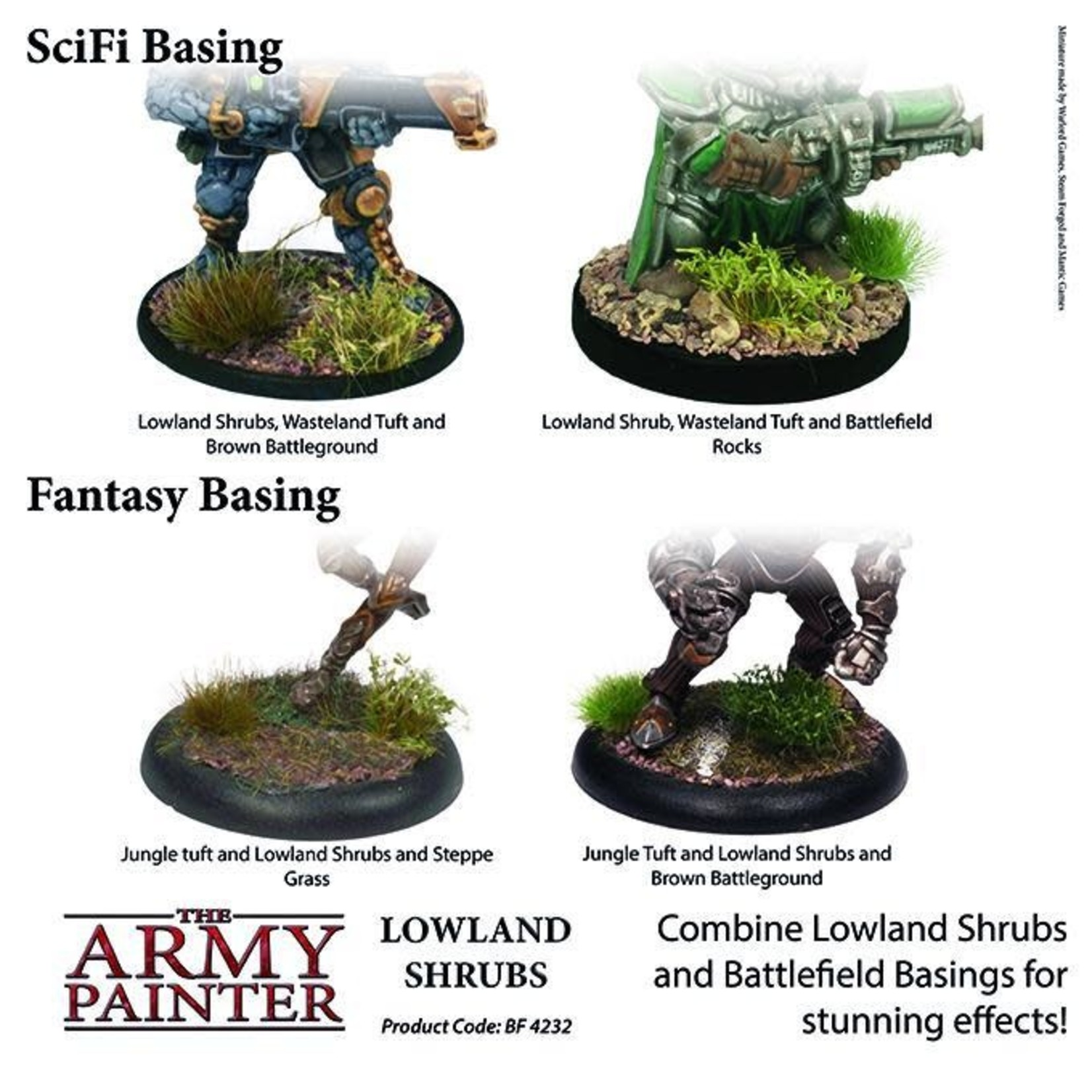 THE ARMY PAINTER LOWLAND SHRUBS
