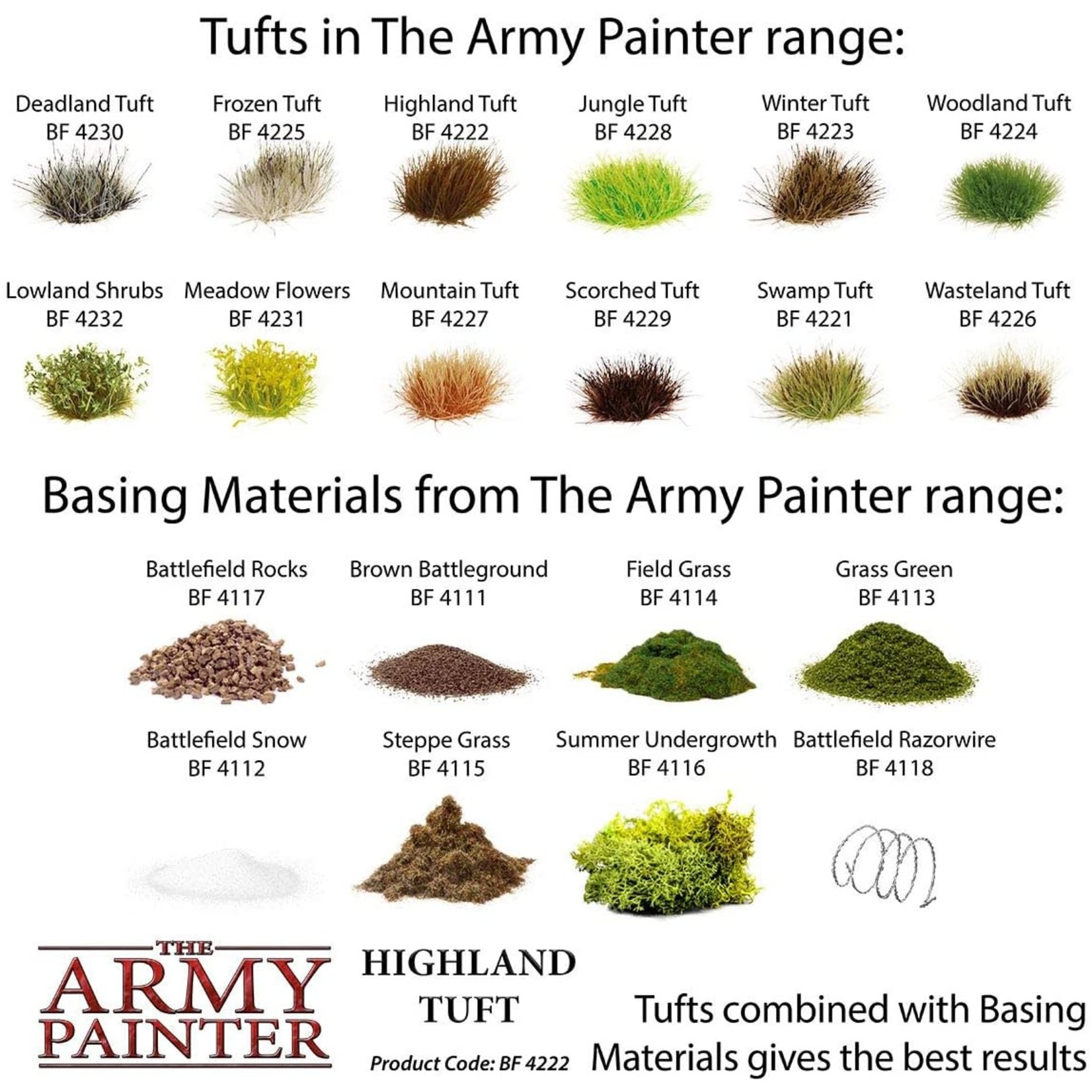 THE ARMY PAINTER HIGHLAND TUFT
