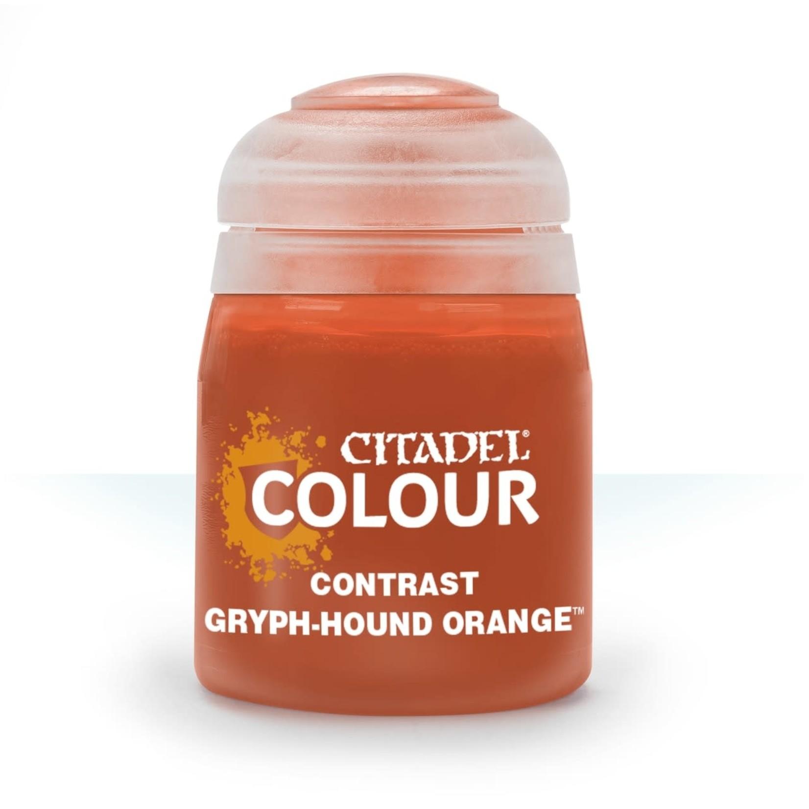 Games Workshop Gryph-hound Orange (18ml) Contrast