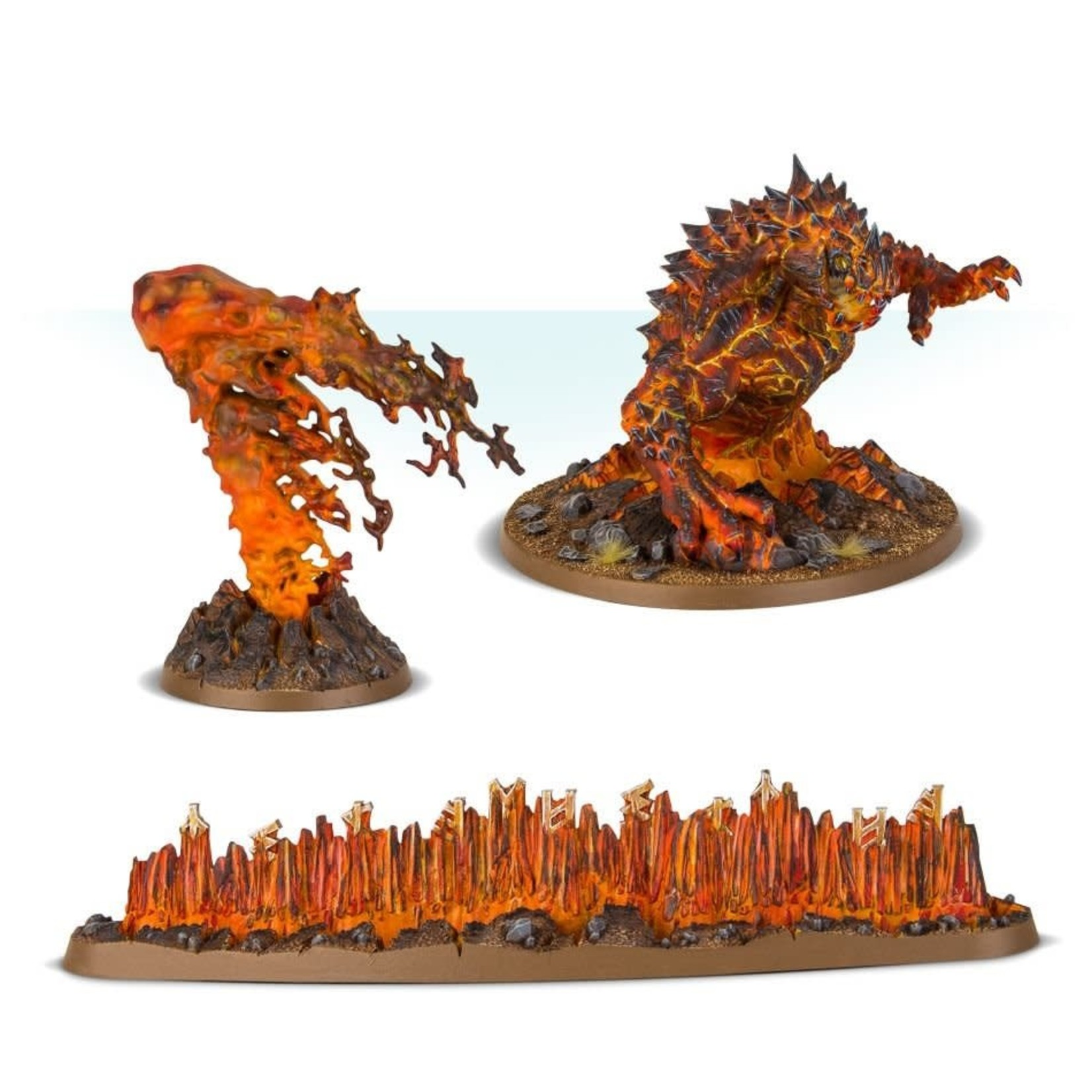 Games Workshop Fyreslayers Magmic Invocations