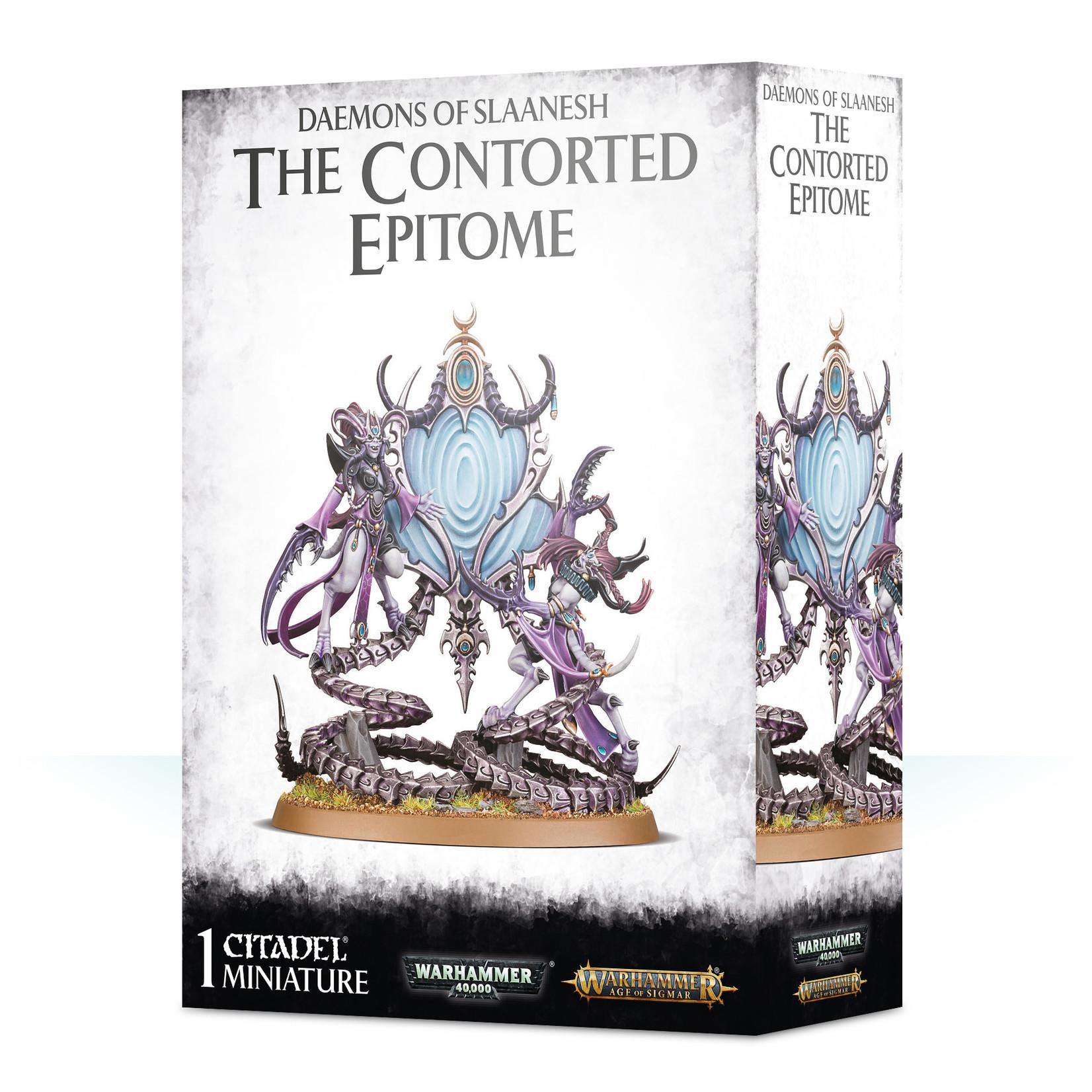 Games Workshop Daemons/slaanesh: The Contorted Epitome