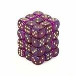 Borealis 2: 12mm D6 Royal Purple/Gold (36)