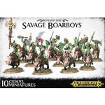 Games Workshop Bonesplitterz Savage Boarboys
