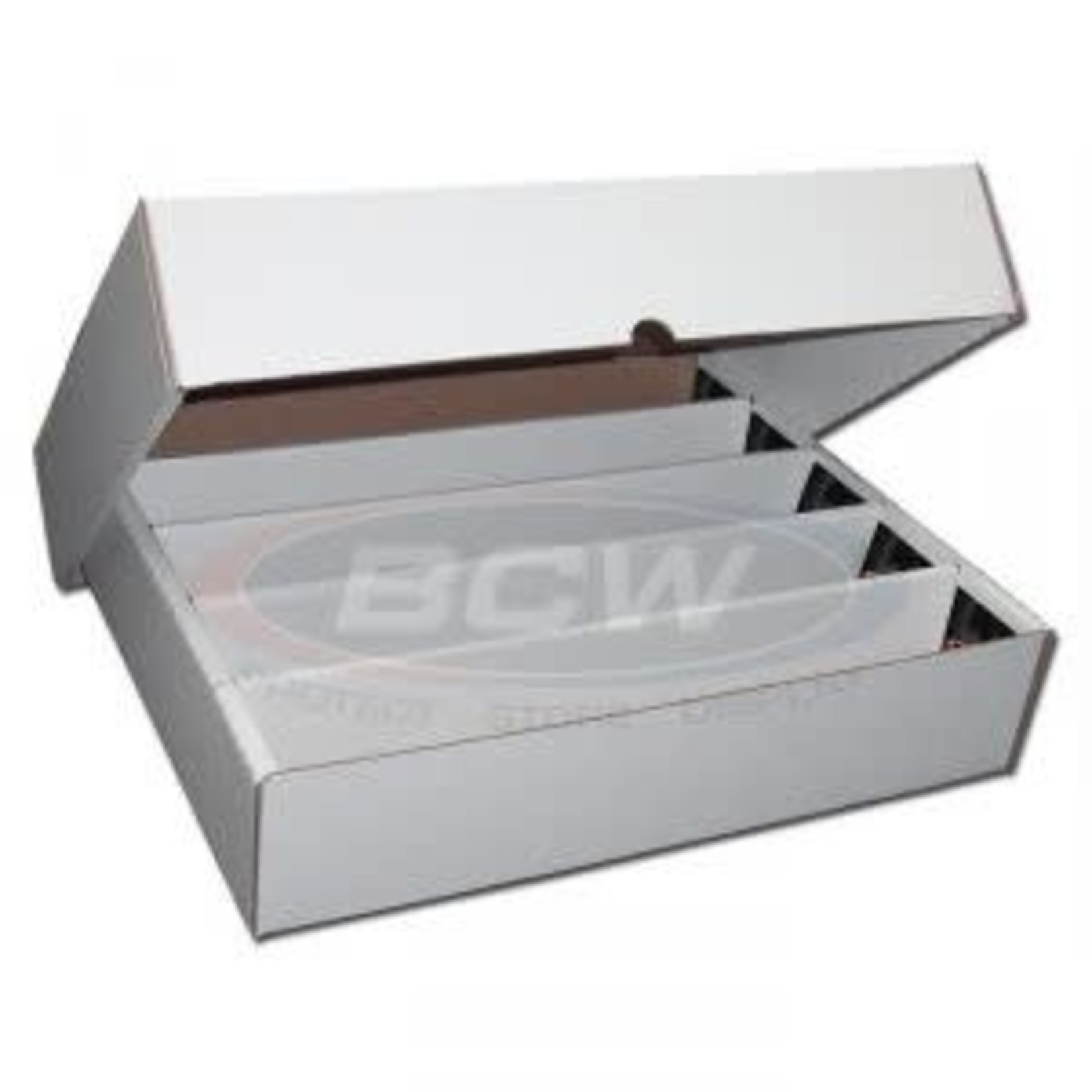 BCW 5000 Count Box with lid