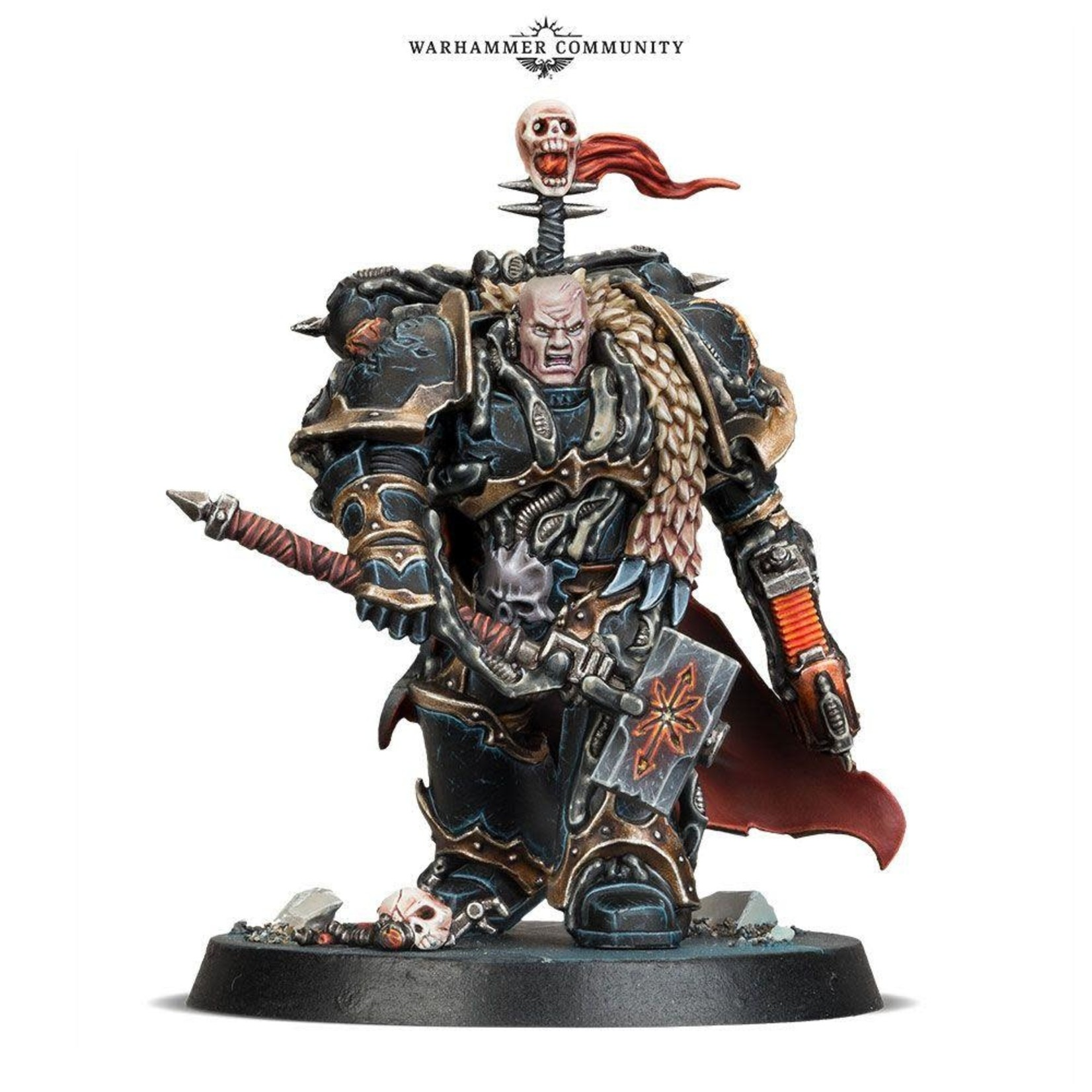 Games Workshop CHAOS SPACE MARINES CHAOS LORD (B/S F)