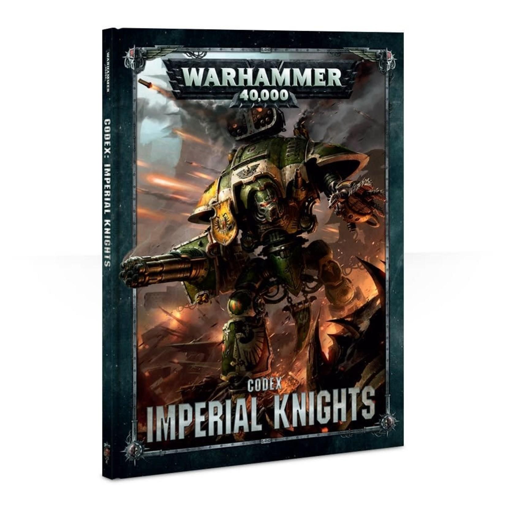 Games Workshop CODEX: IMPERIAL KNIGHTS (HB) (ENGLISH)