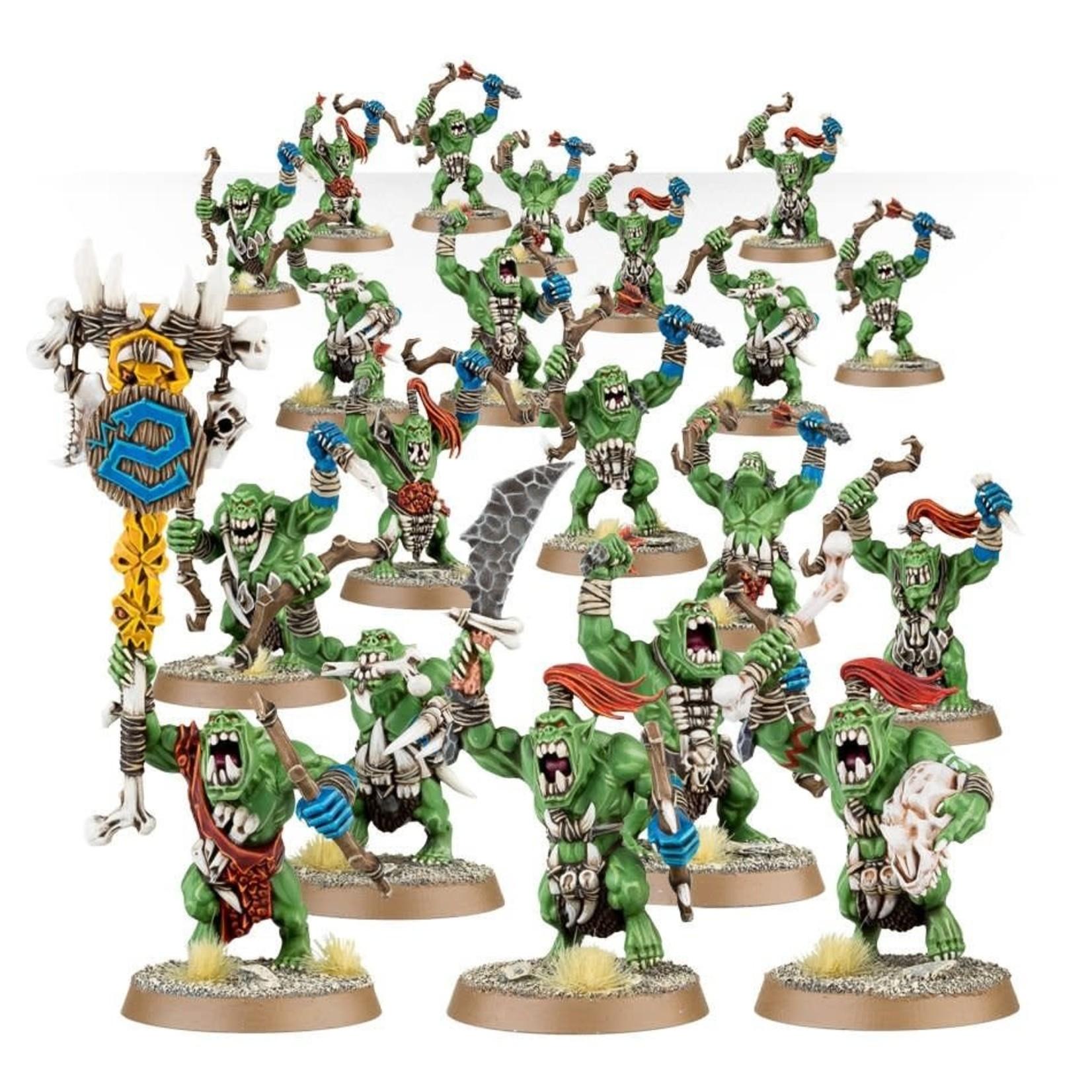 Games Workshop Bonesplitterz Savage Orruks