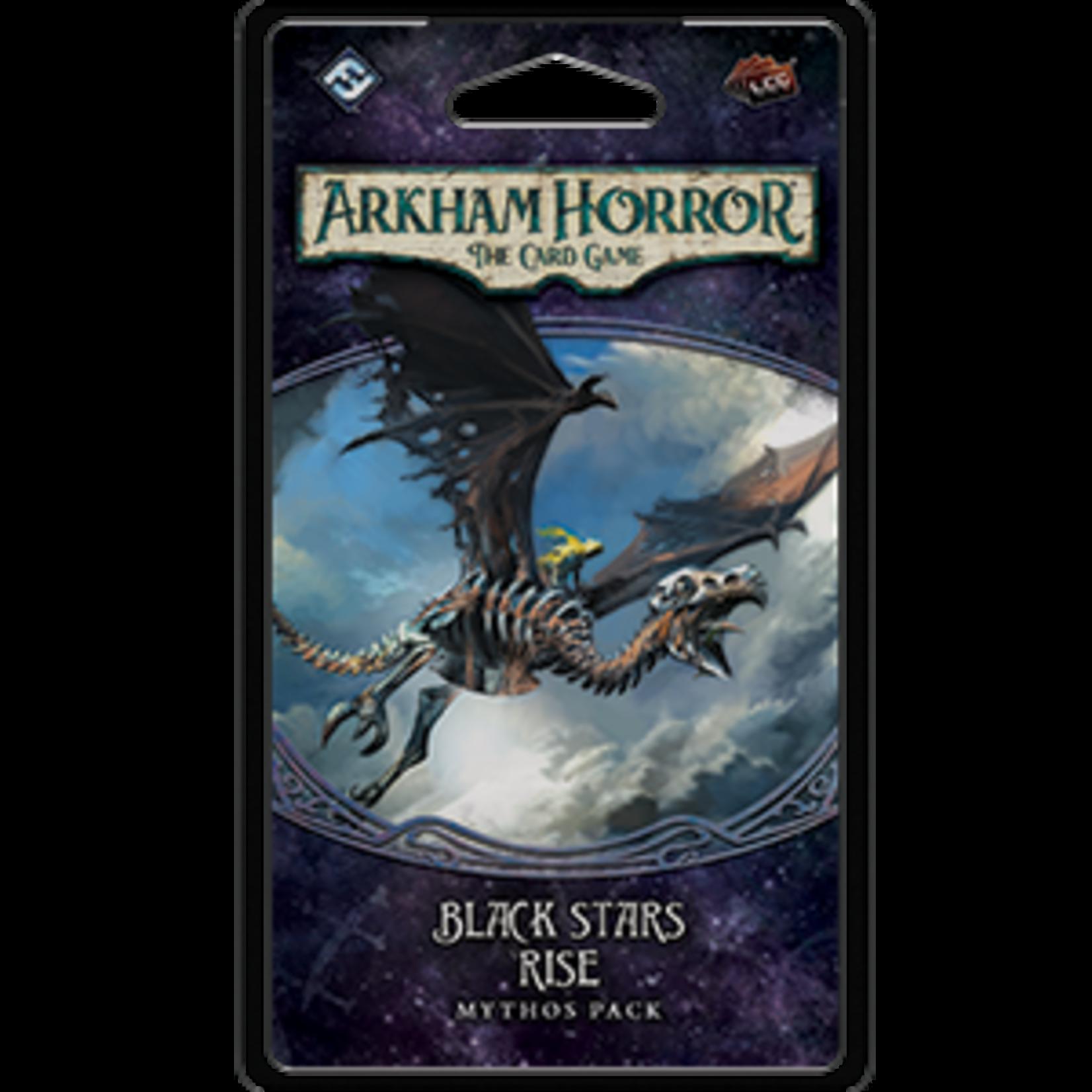 Arkham Horror LCG: Black Stars Rise Mythos Pack  POC