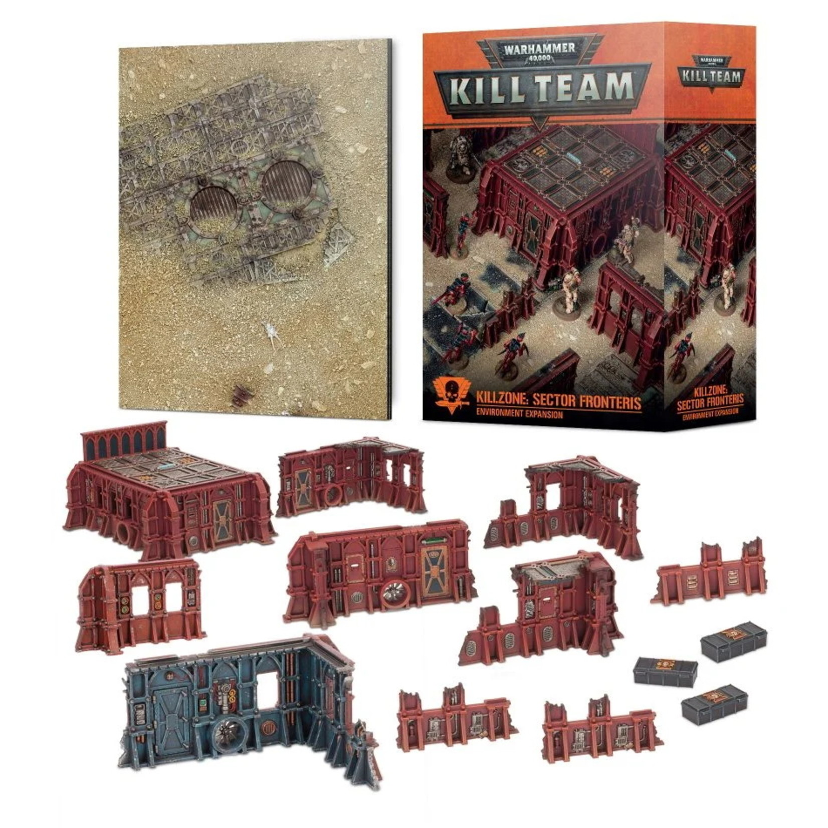 Games Workshop Kill Team Killzone: Sector Fronteris Environment Expansion