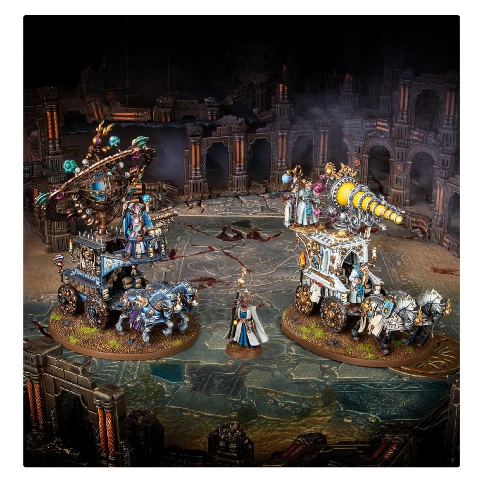 Games Workshop Broken Realms: Arcobalde Lazerne – Xintil War-Magi