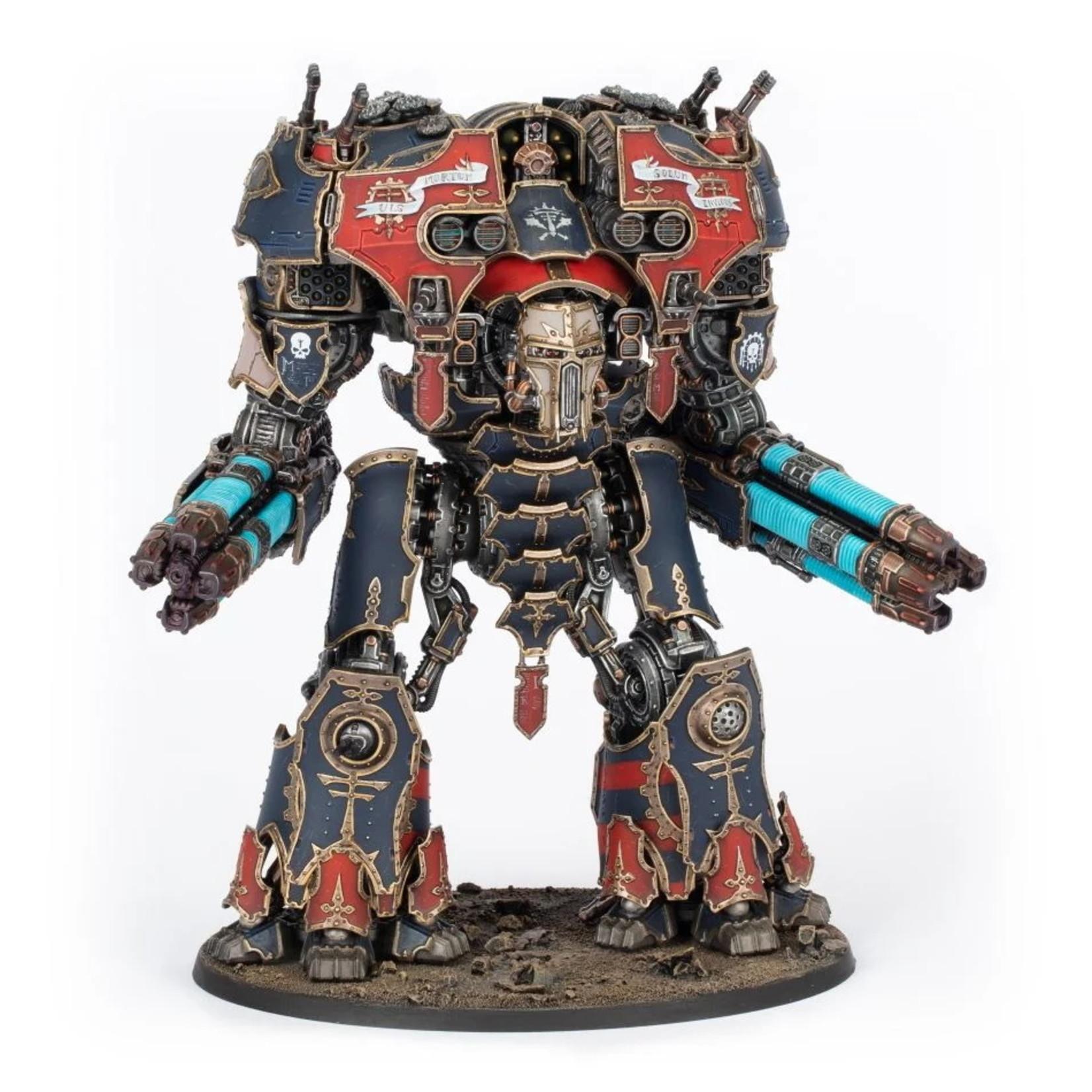 Games Workshop Warmaster Titan with Plasma Destructors