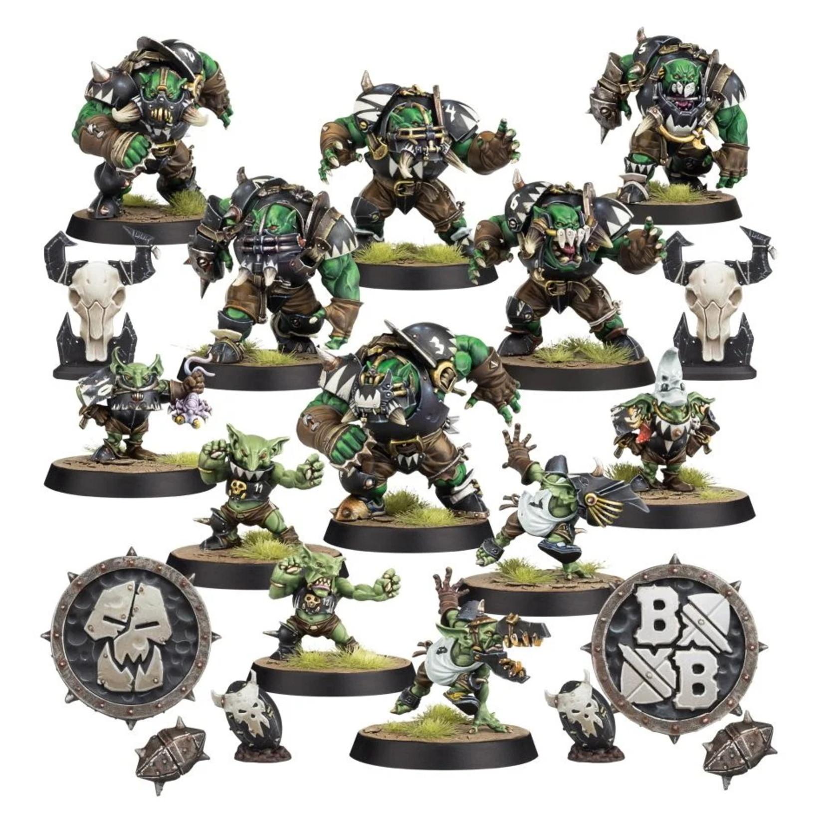 Games Workshop Black Orc Blood Bowl Team: The Thunder Valley Greenskins