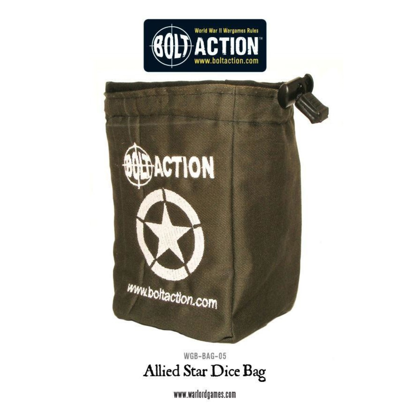 Warlord Games Bolt Action Allied Star Dice Bag