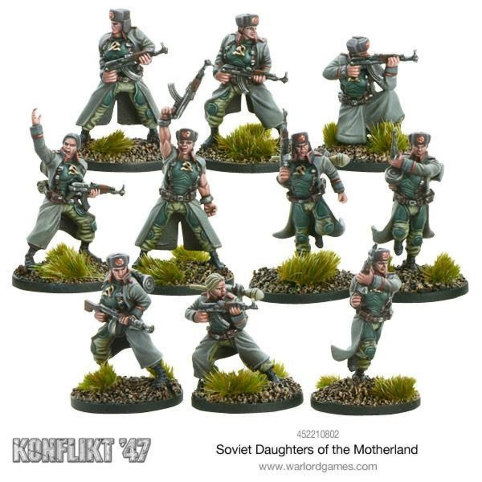 Warlord Games Daughters of the Motherland