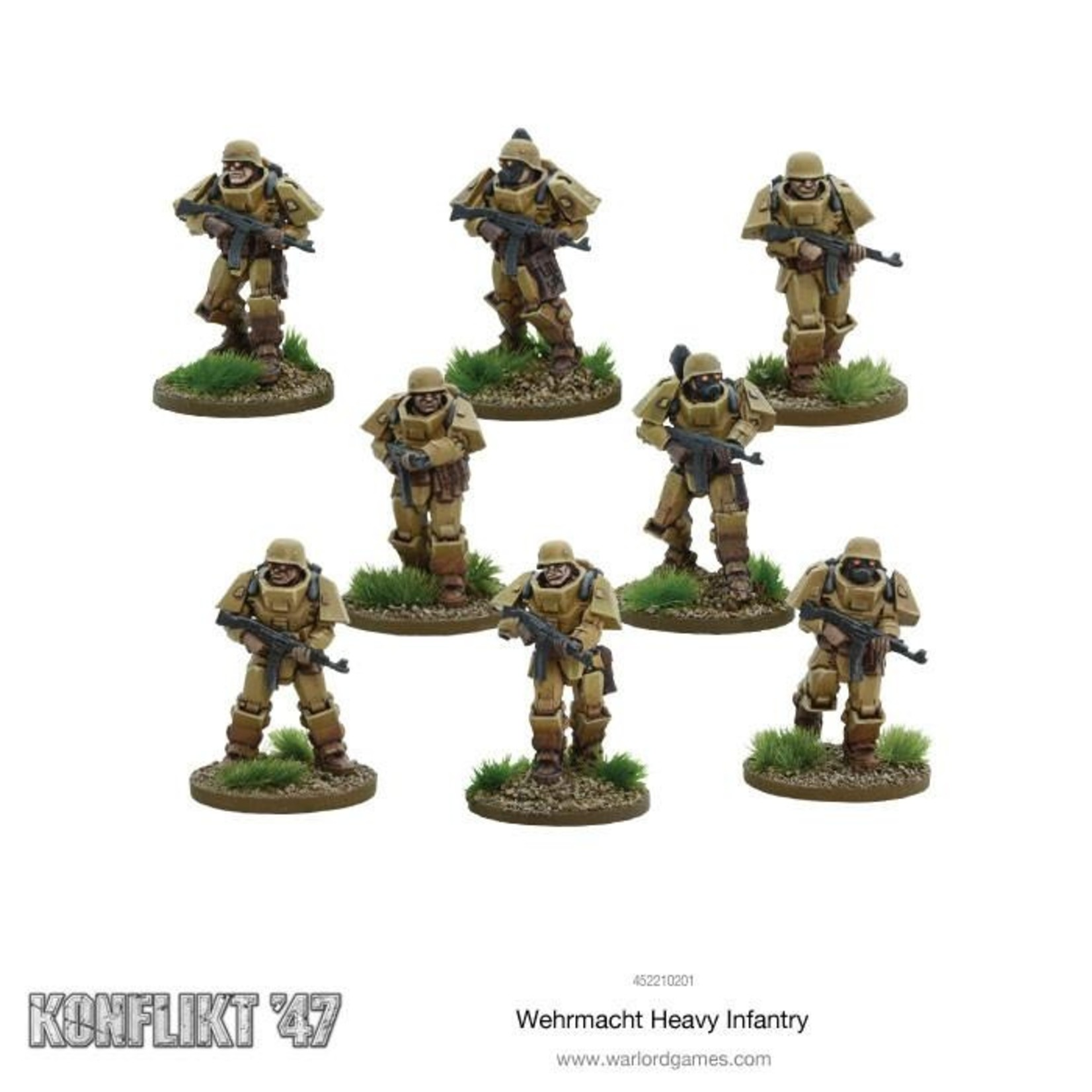 Warlord Games German Wehrmacht Heavy Infantry K47