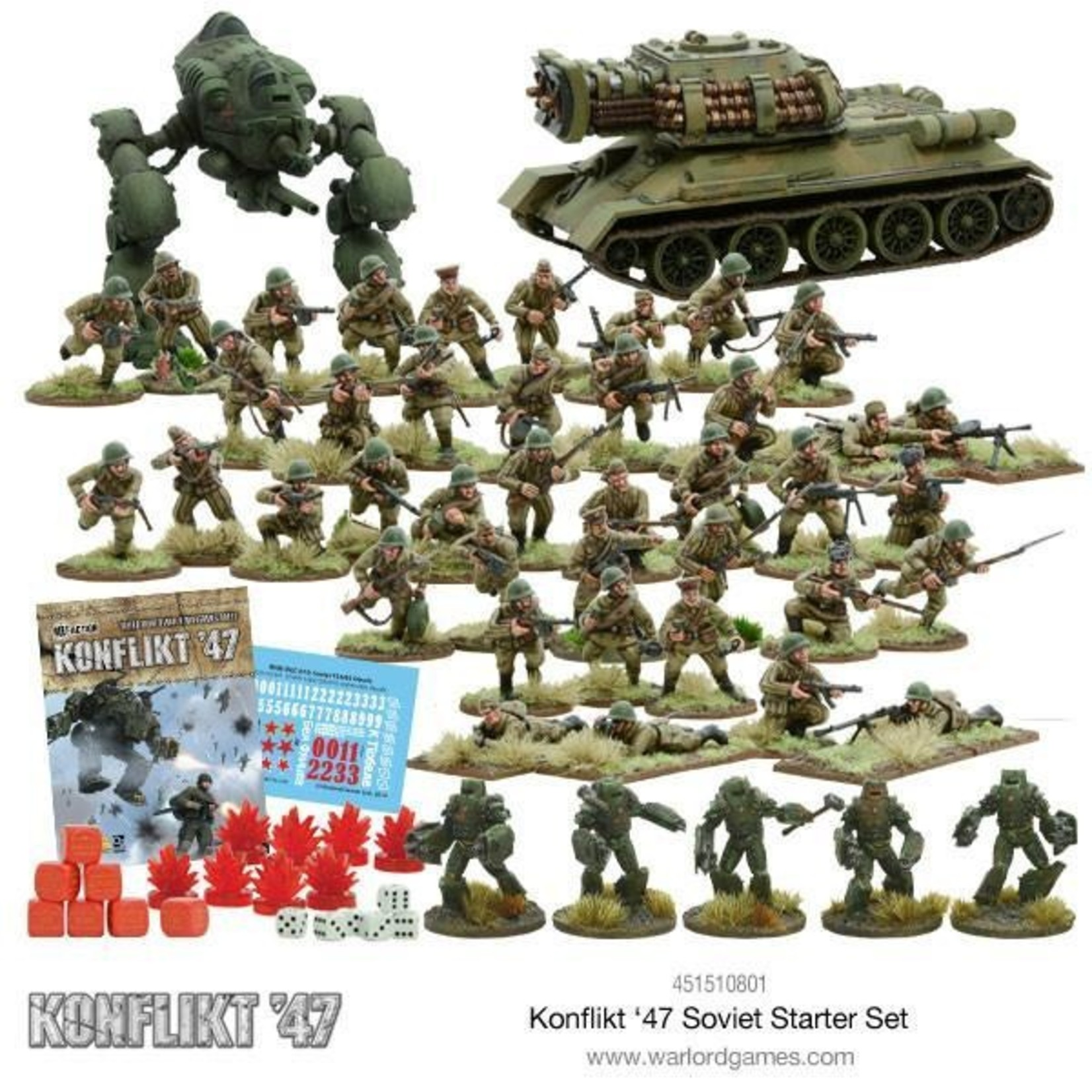 Warlord Games Konflikt 47 Soviet Starter Set