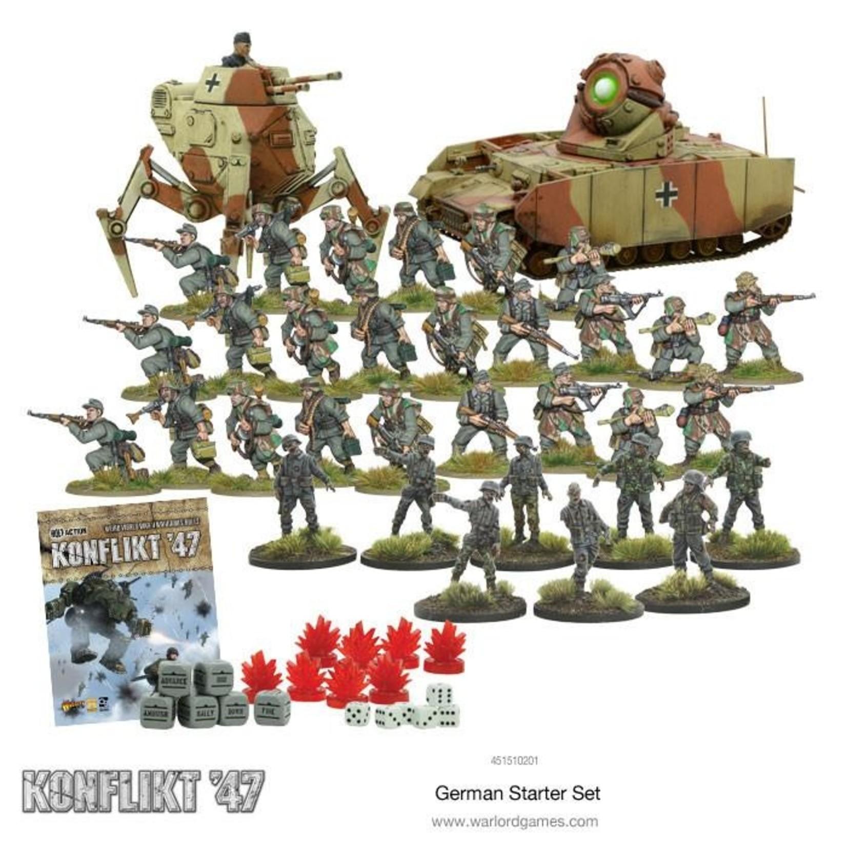 Warlord Games Konflikt 47 Germany Starter Set