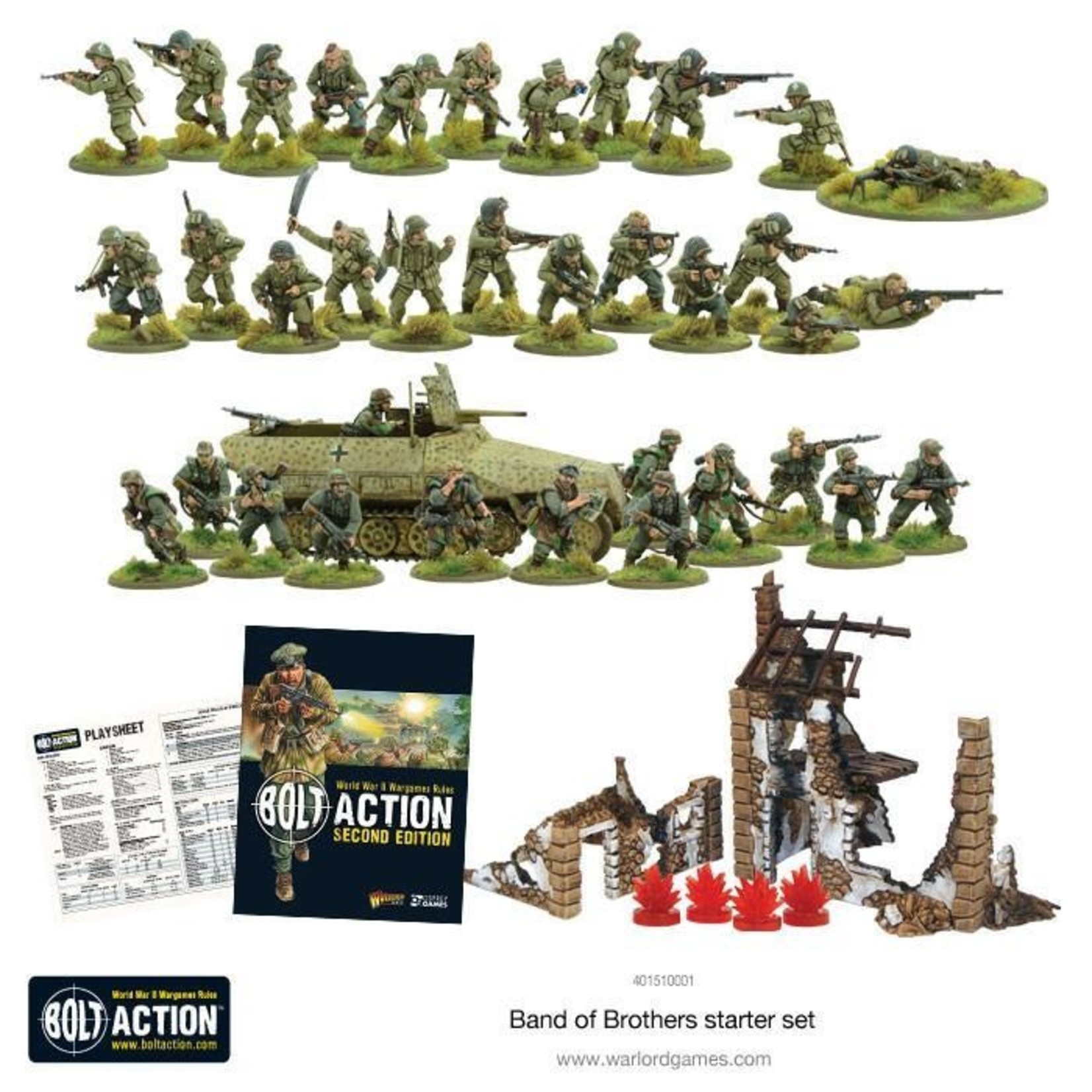 """Warlord Games Bolt Action 2 Starter Set - """"Band of Brothers"""""""
