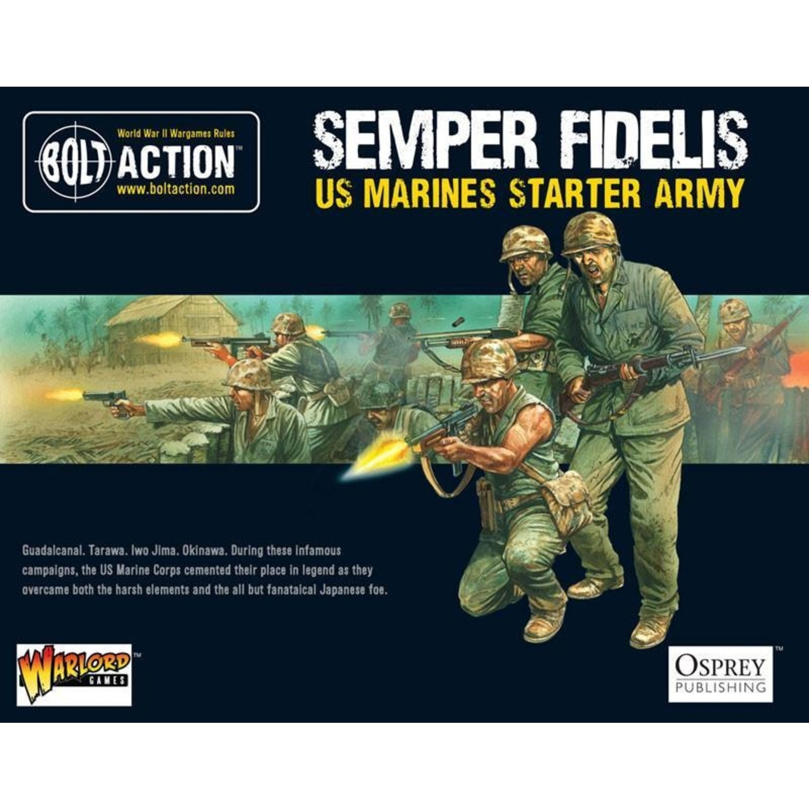 Warlord Games Semper Fidelis - US Marines Starter Army