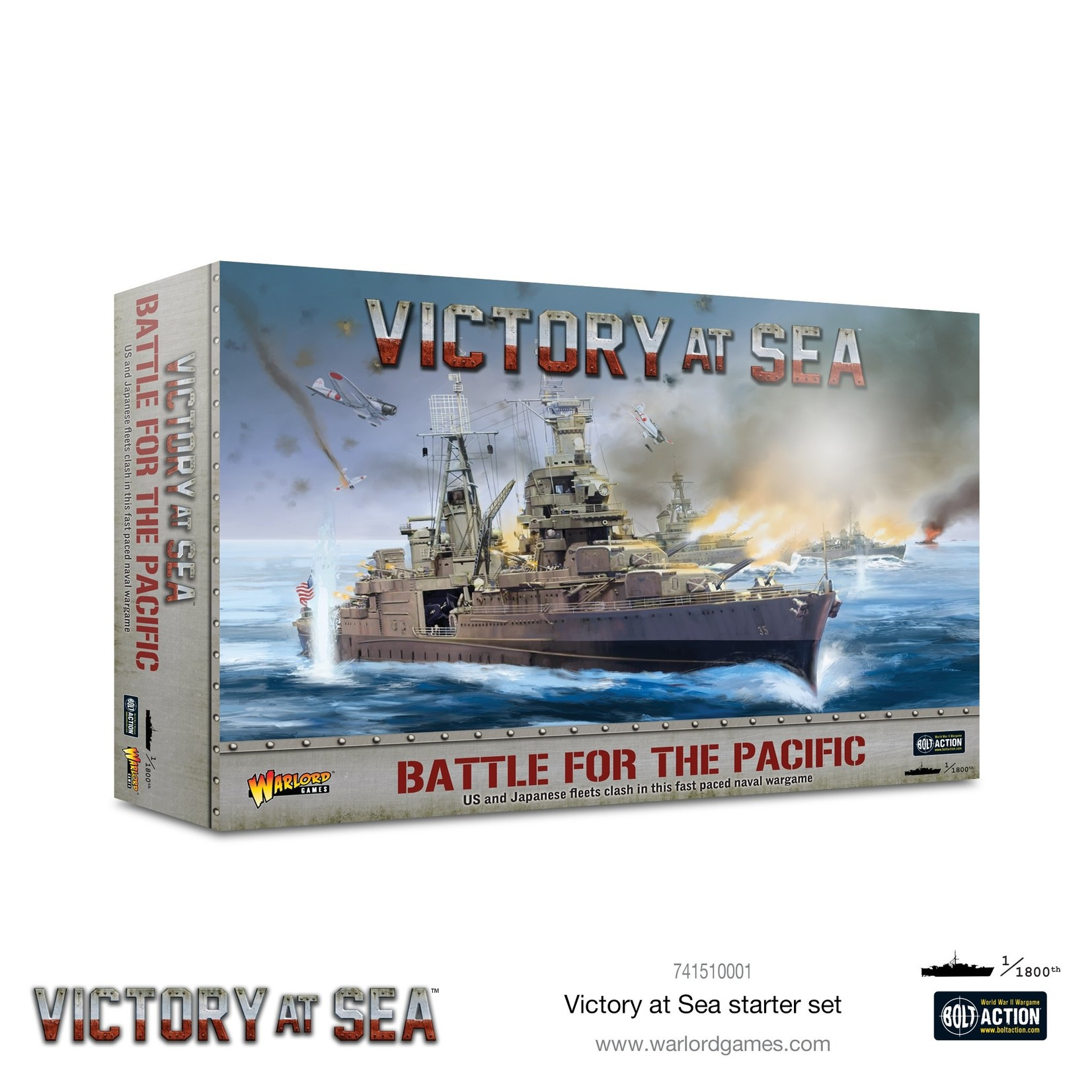 Warlord Games Battle for the Pacific - Victory at Sea starter game
