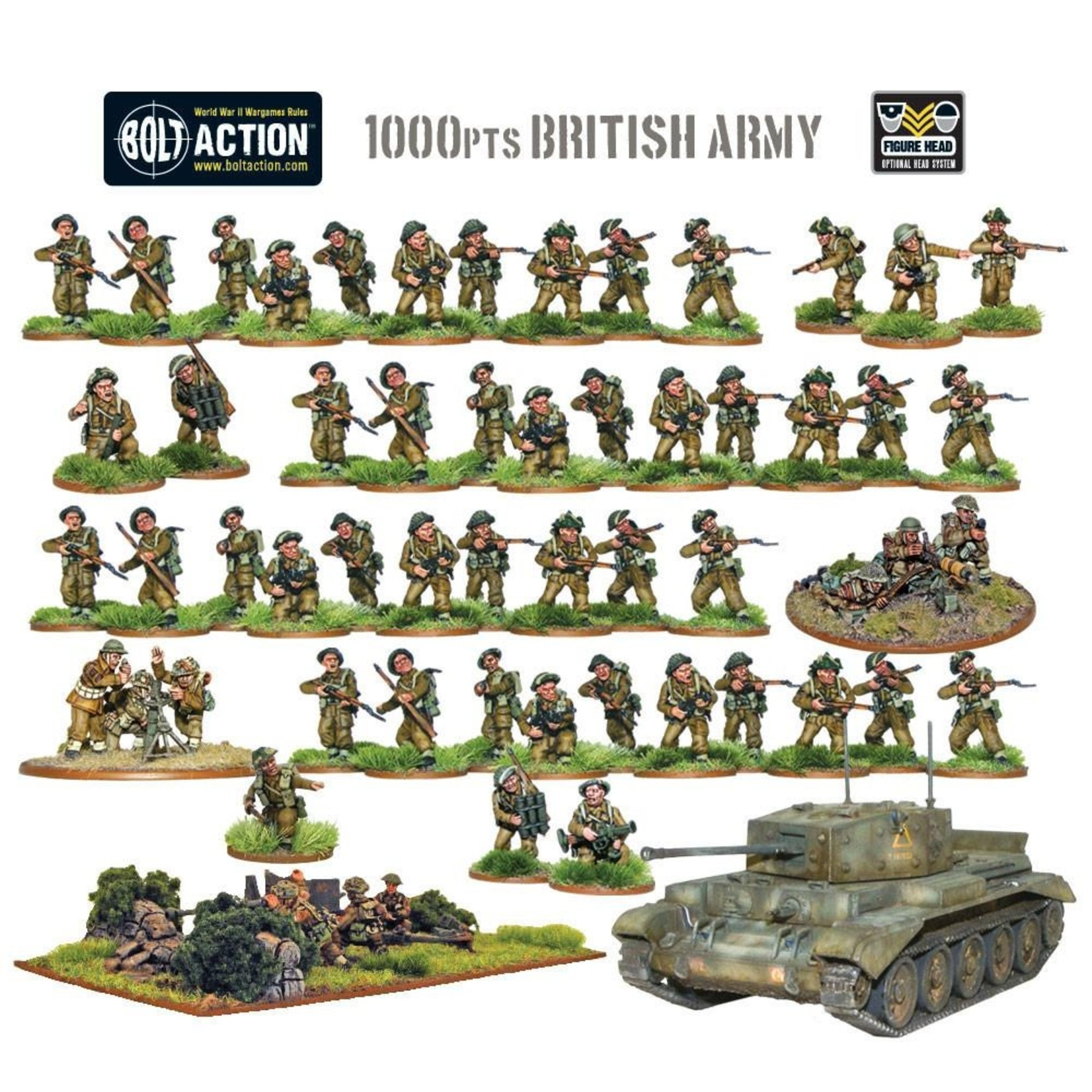 Warlord Games British Army starter army