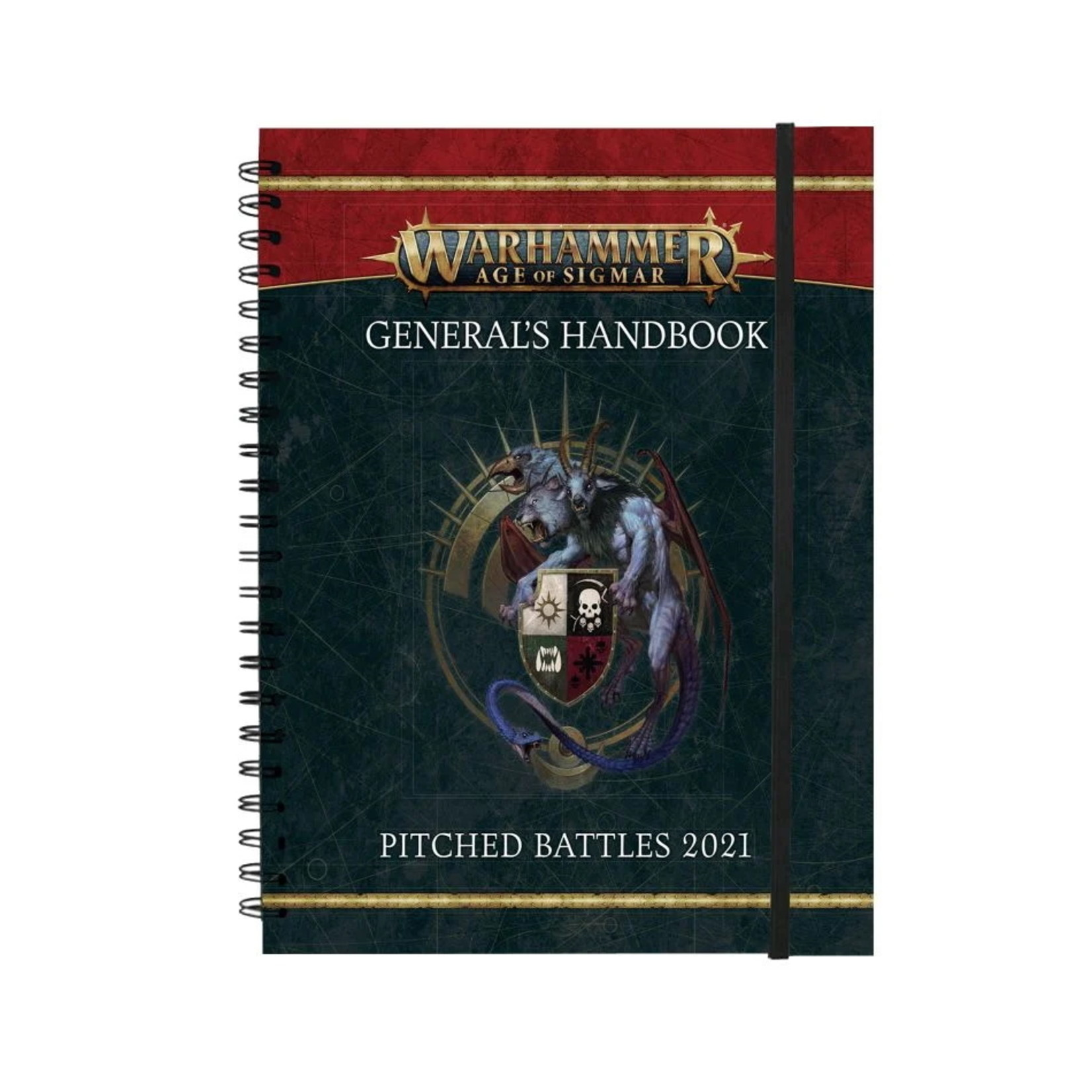 Games Workshop Warhammer Age of Sigmar General's Handbook Pitched Battles 2021 and Pitched Battle Profiles
