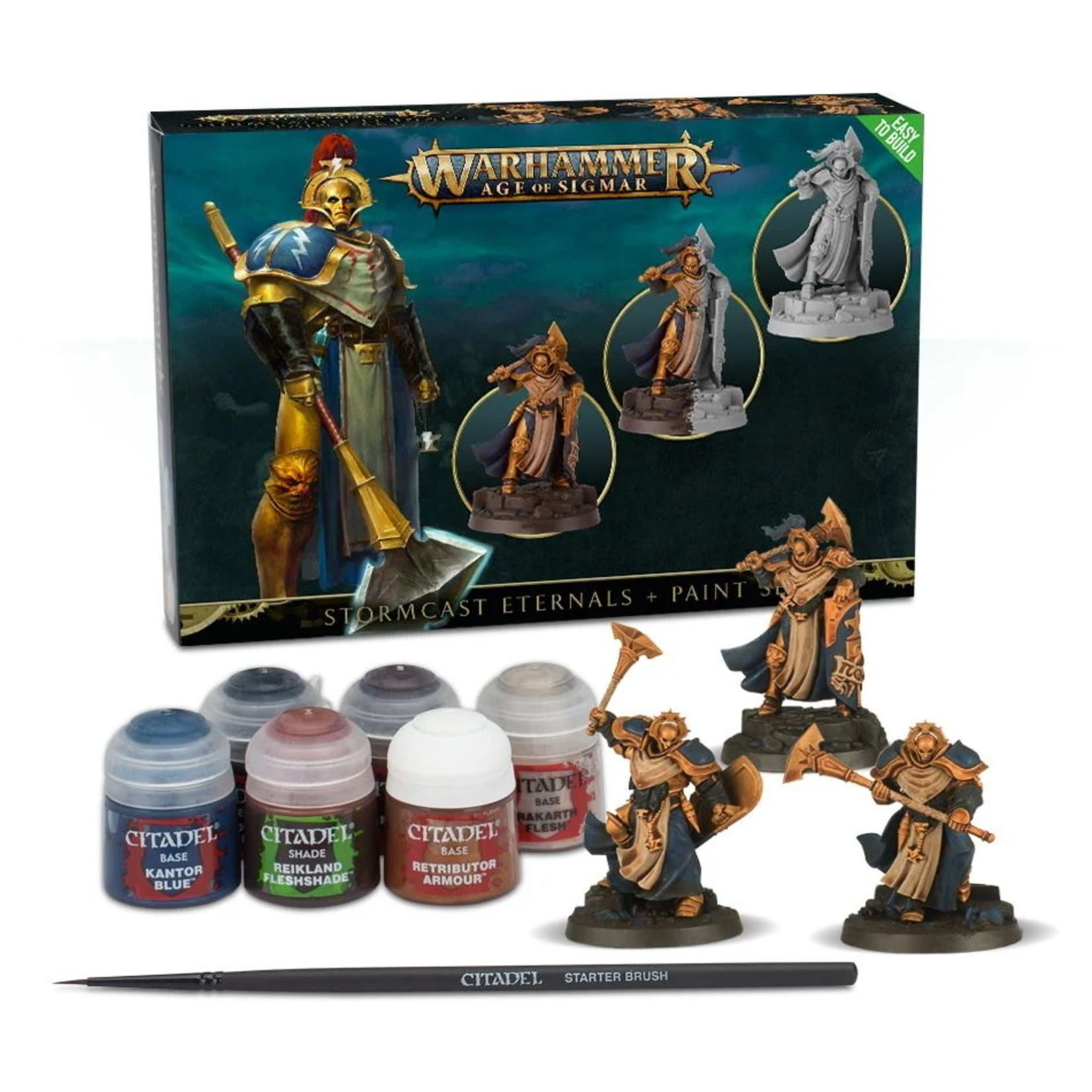 Games Workshop Stormcast Eternals + Paint Set
