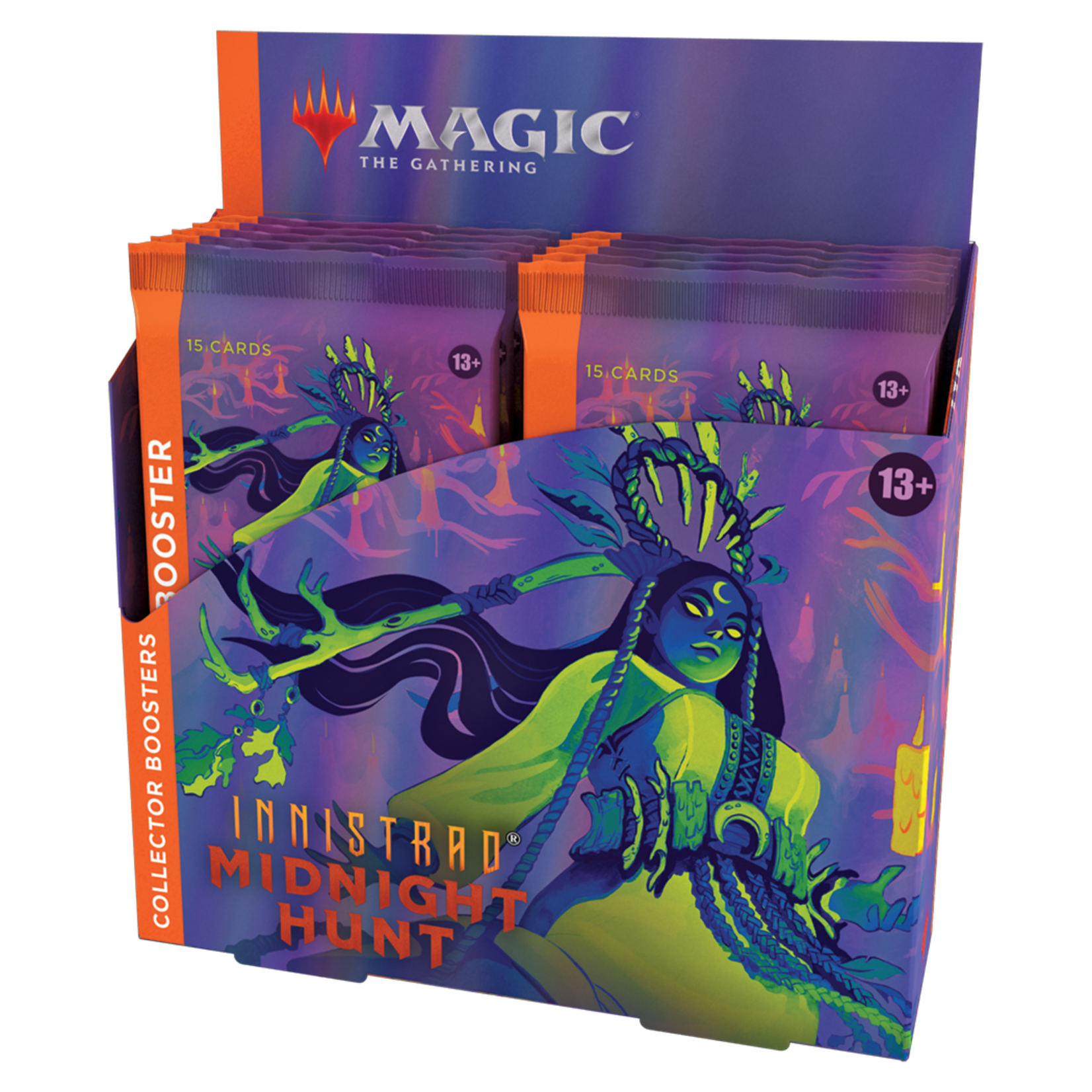 MAGIC THE GATHERING: INNISTRAD MIDNIGHT HUNT COLLECTOR BOOSTER BOX