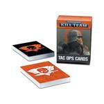 Games Workshop Warhammer 40,000 Kill Team: Tac Ops Cards