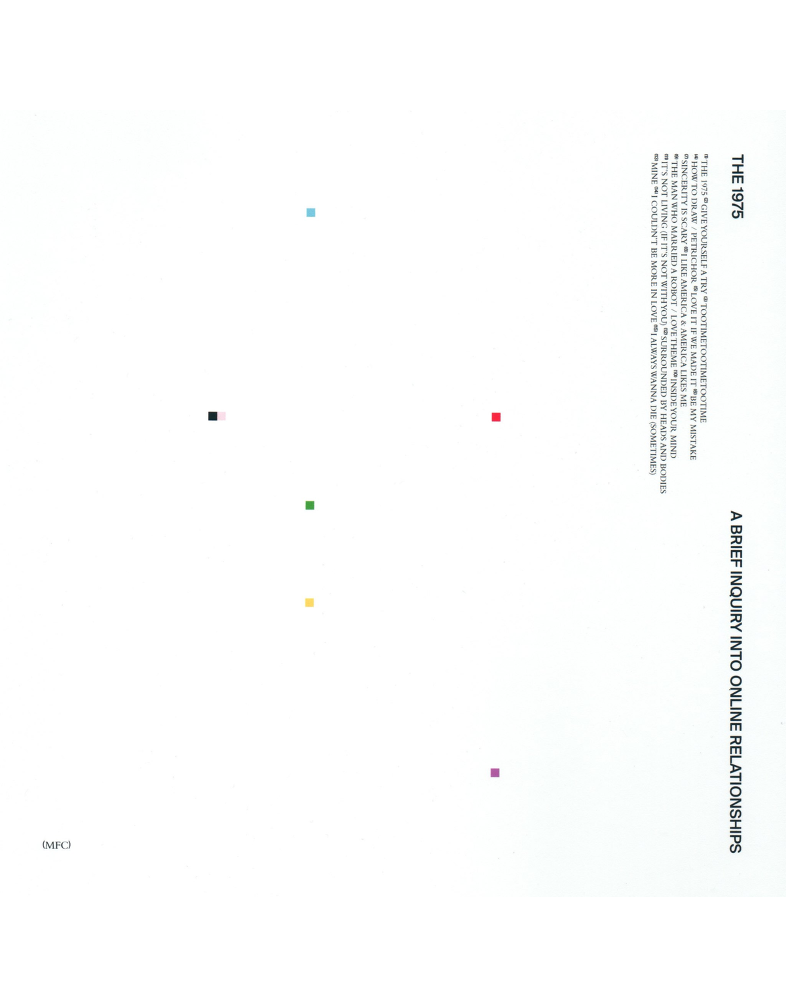The 1975 - Brief Inquiry Into Online Relationships