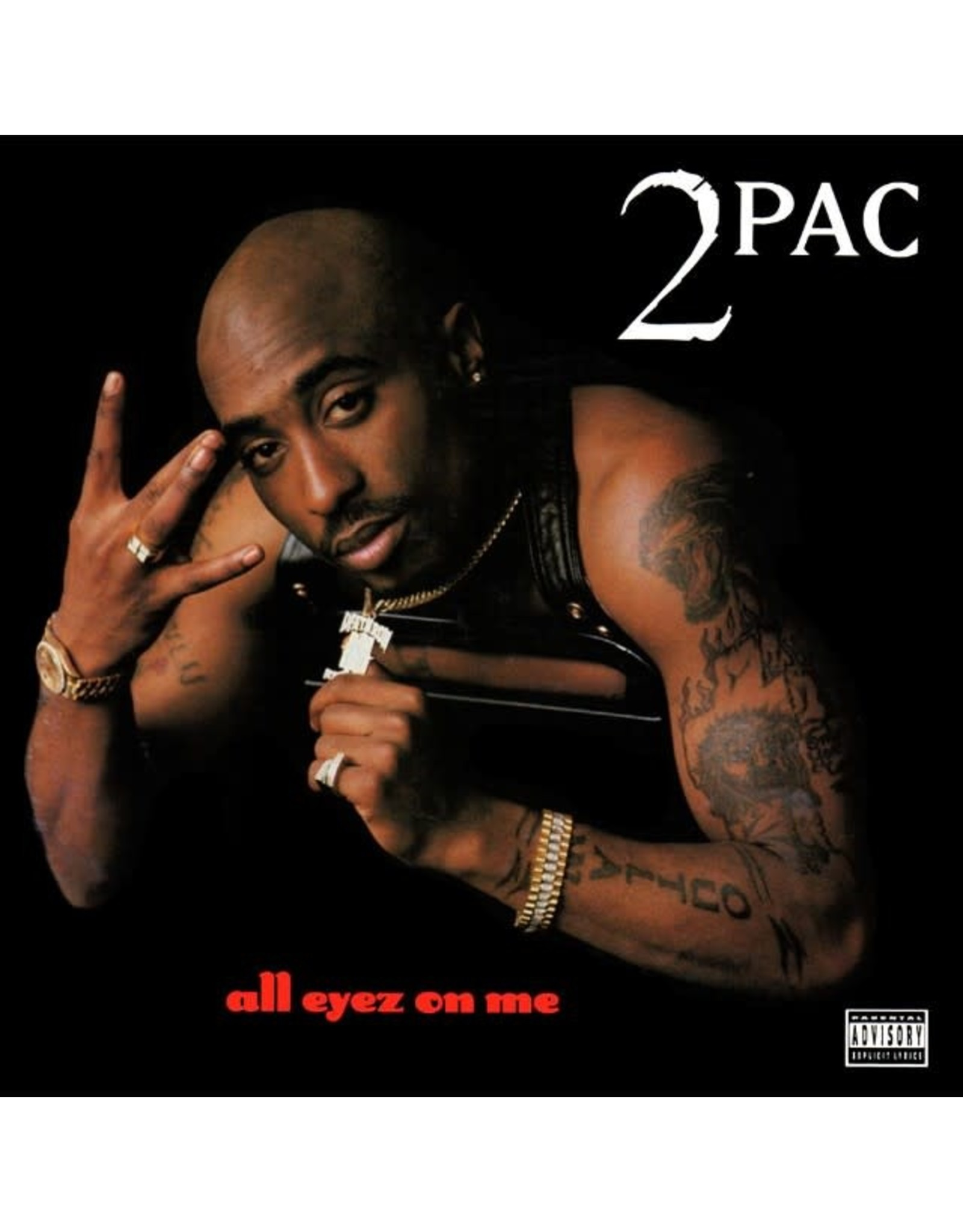 2Pac - All Eyez On Me (4LP)