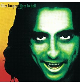 Alice Cooper - Alice Cooper Goes To Hell (Orange Vinyl)