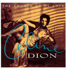 Celine Dion - Colour Of My Love (Turquoise Vinyl)
