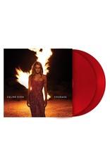 Celine Dion - Courage (Ruby Red Vinyl)