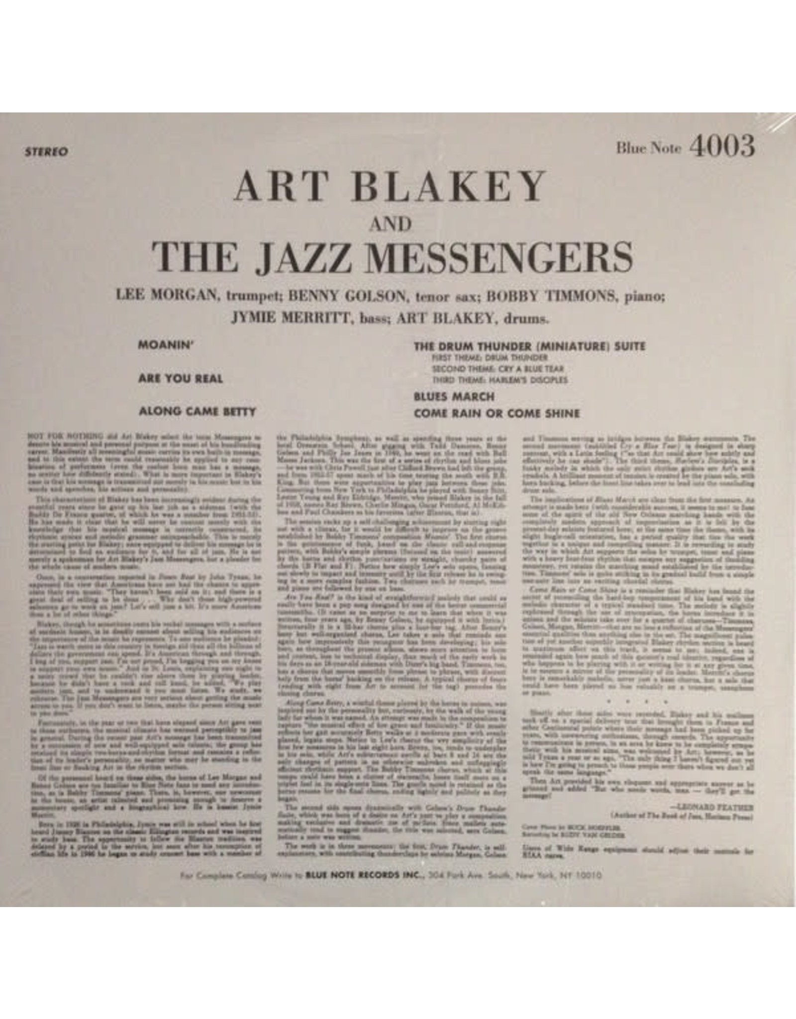 Art Blakey - Moanin'