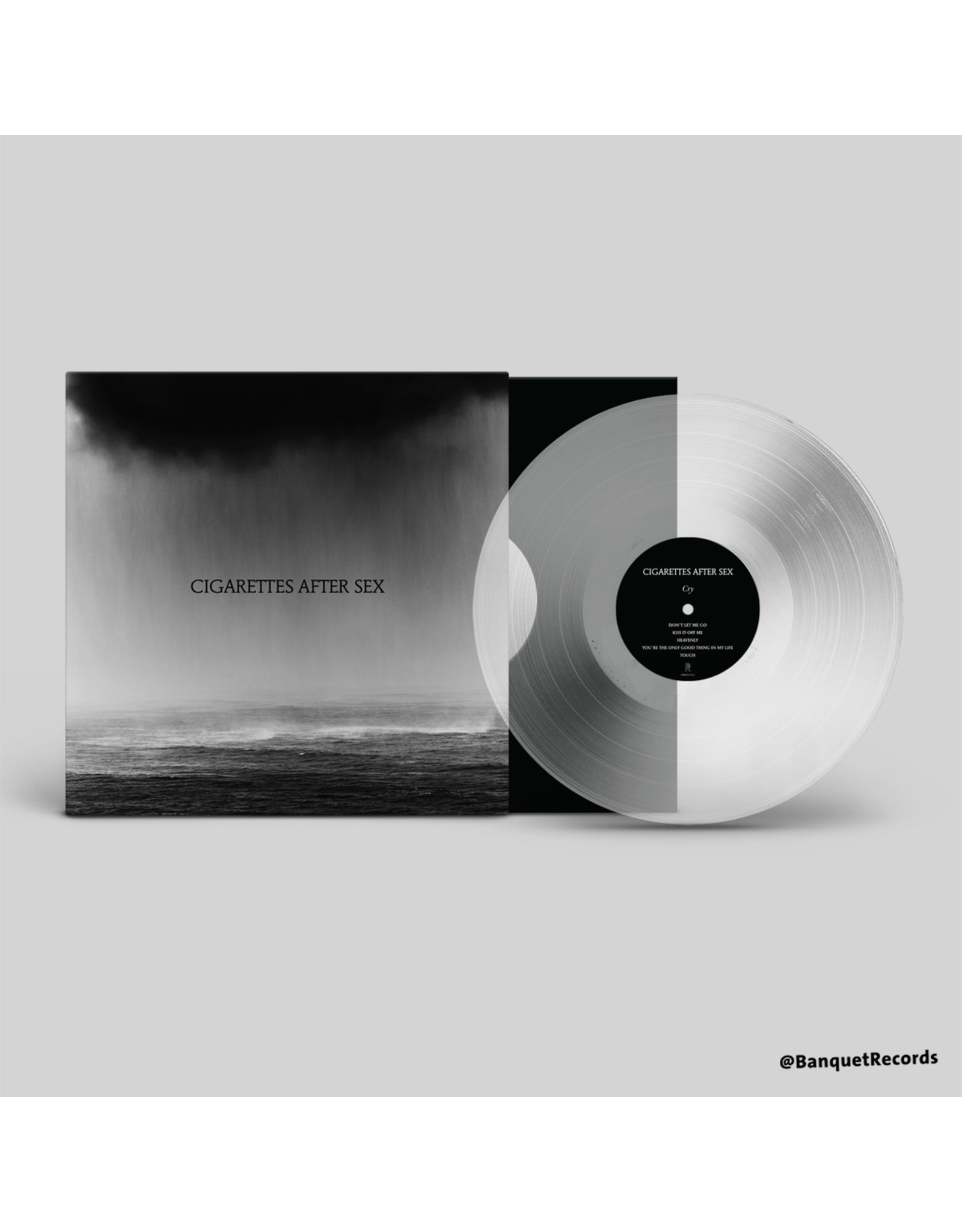 Cigarettes After Sex - Cry (Exclusive Clear Vinyl)