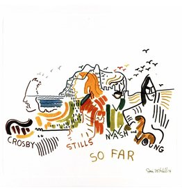 Crosby, Stills, Nash & Young - So Far: Best of CSNY (White Vinyl)
