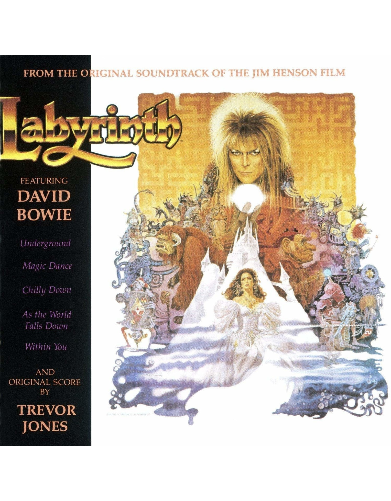 David Bowie / Trevor Jones - Labyrinth (Original Motion Picture Soundtrack)