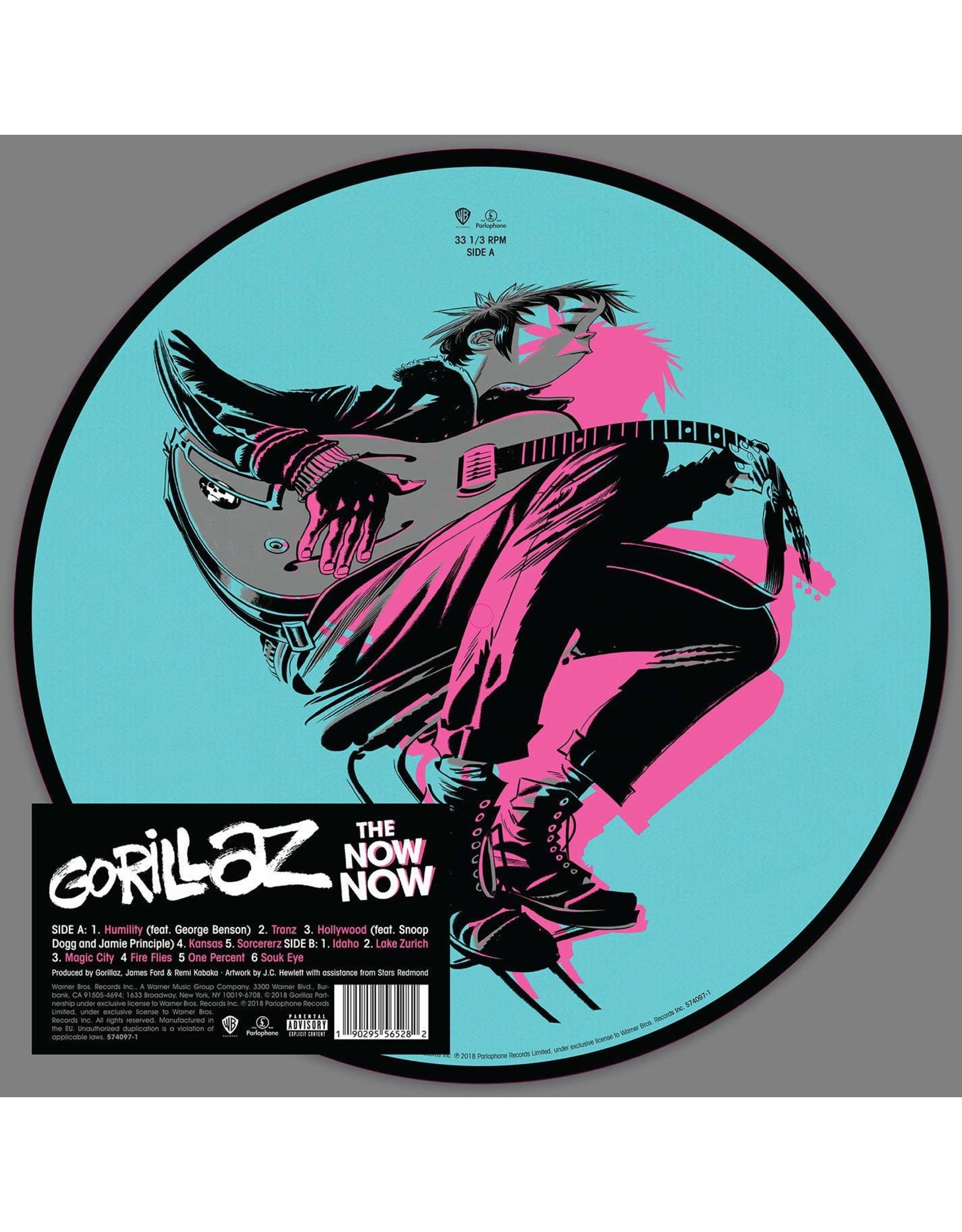 Gorillaz - Now Now (Picture Disc)