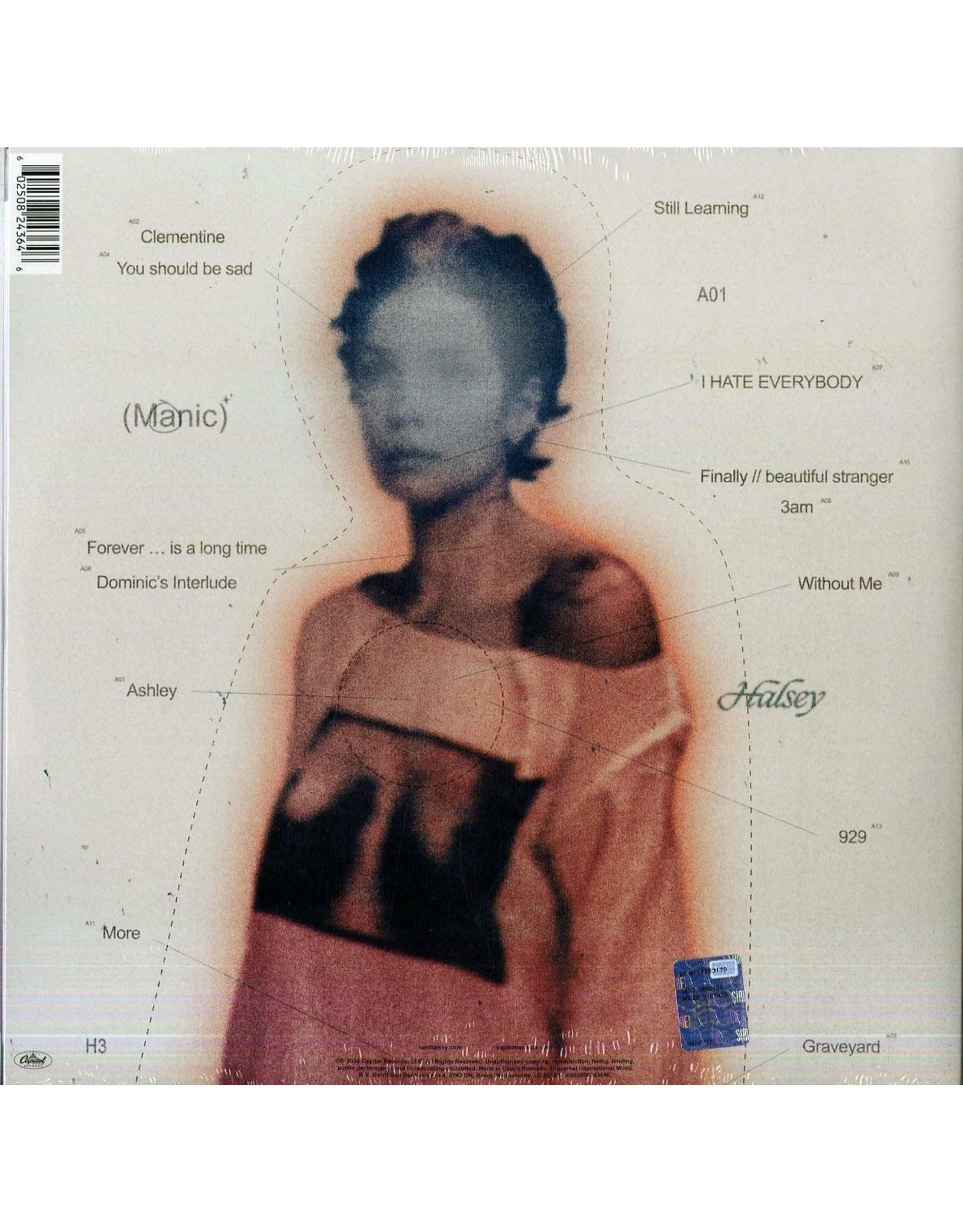 Halsey - Manic (Exclusive Pink and Blue Splatter Vinyl)